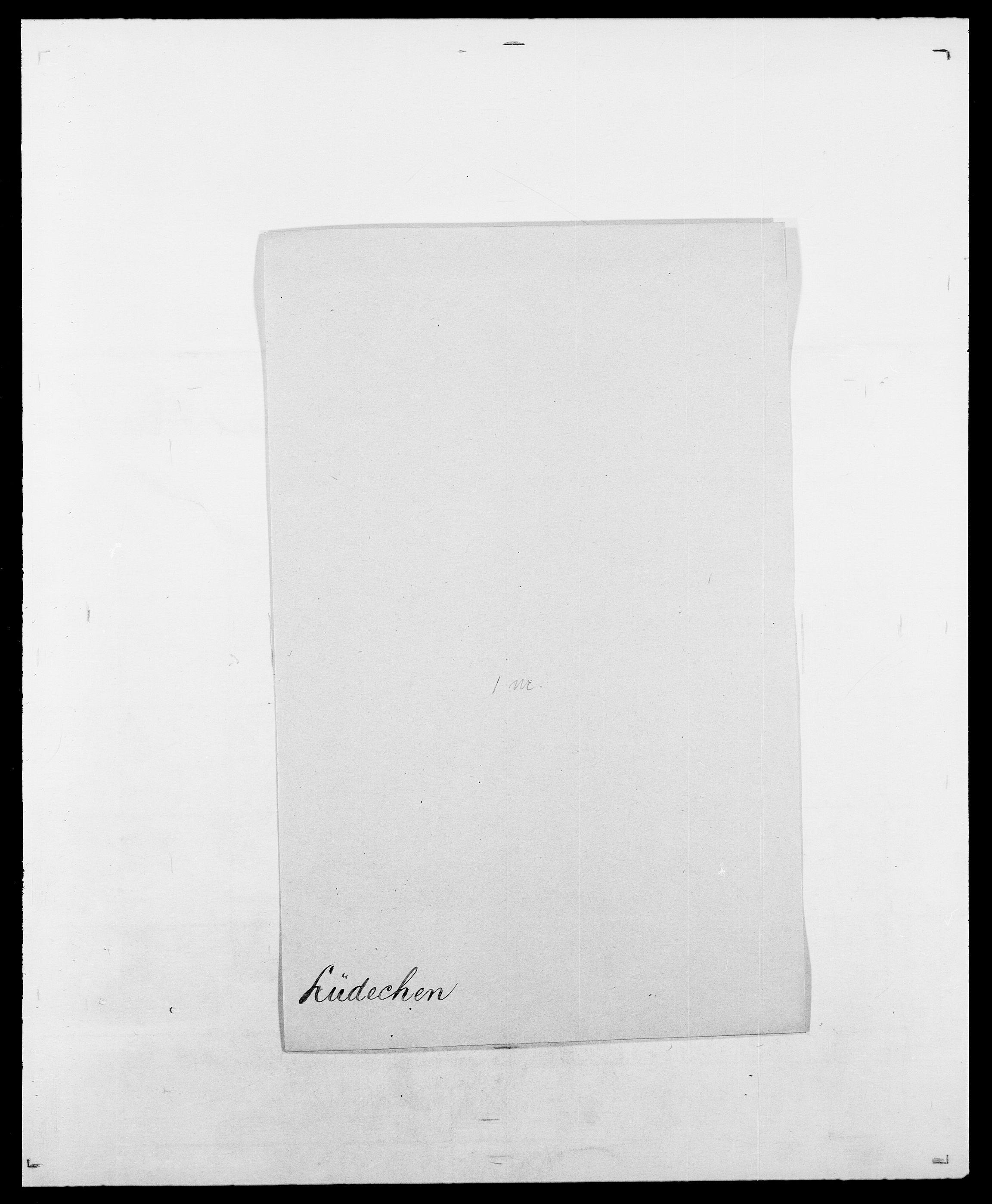 SAO, Delgobe, Charles Antoine - samling, D/Da/L0024: Lobech - Lærum, s. 701