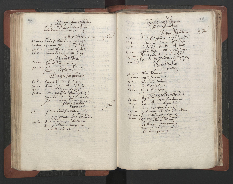 RA, Fogdenes og sorenskrivernes manntall 1664-1666, nr. 7: Nedenes fogderi, 1664-1666, s. 178-179