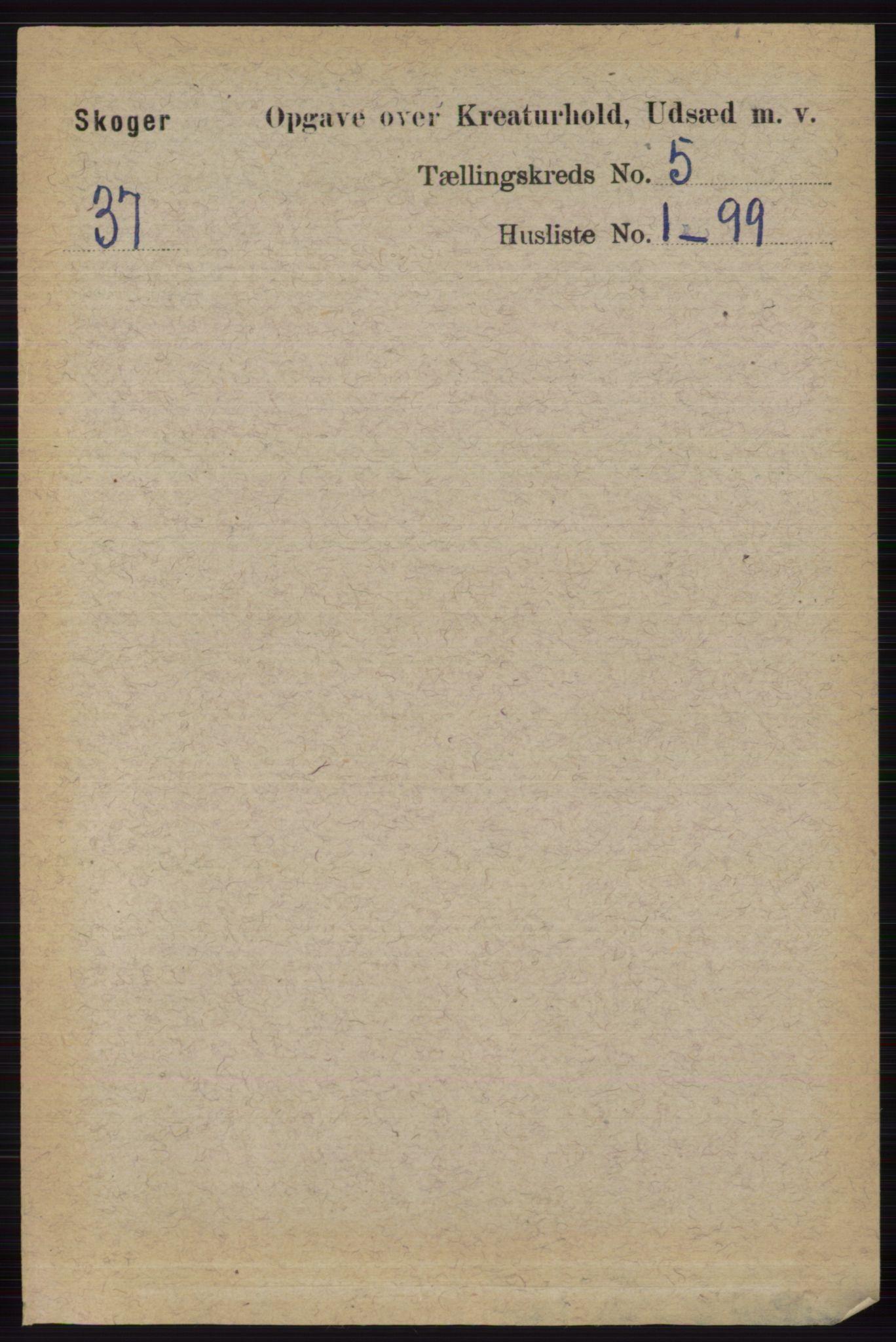 RA, Folketelling 1891 for 0712 Skoger herred, 1891, s. 4985