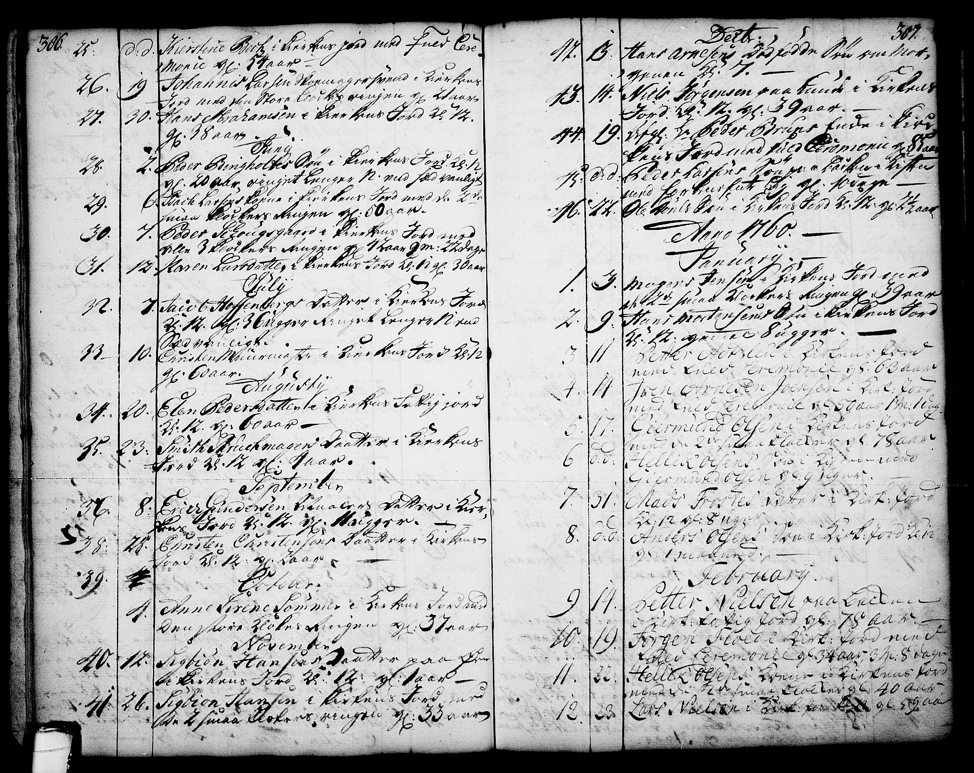 SAKO, Skien kirkebøker, F/Fa/L0003: Ministerialbok nr. 3, 1755-1791, s. 306-307