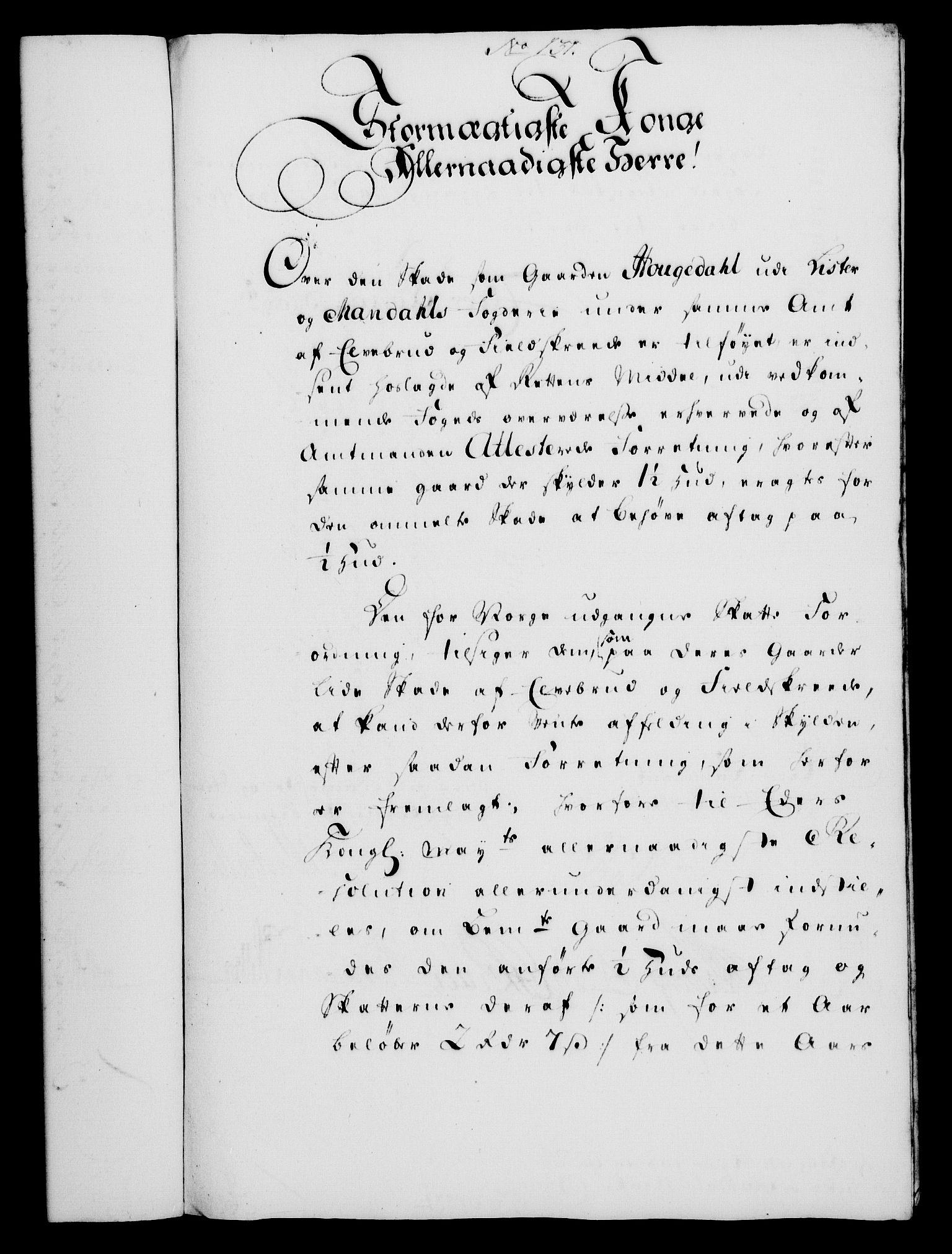 RA, Rentekammeret, Kammerkanselliet, G/Gf/Gfa/L0032: Norsk relasjons- og resolusjonsprotokoll (merket RK 52.32), 1750, s. 586