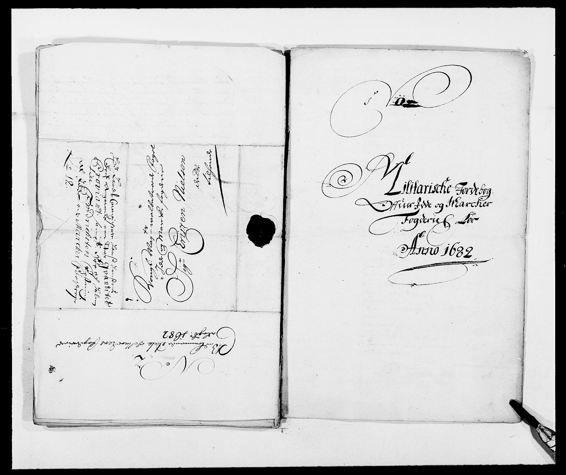 RA, Rentekammeret inntil 1814, Reviderte regnskaper, Fogderegnskap, R01/L0005: Fogderegnskap Idd og Marker , 1682-1684, s. 249