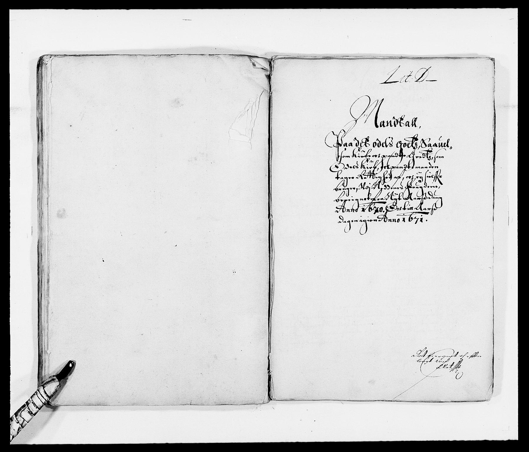 RA, Rentekammeret inntil 1814, Reviderte regnskaper, Fogderegnskap, R39/L2299: Fogderegnskap Nedenes, 1670-1671, s. 118