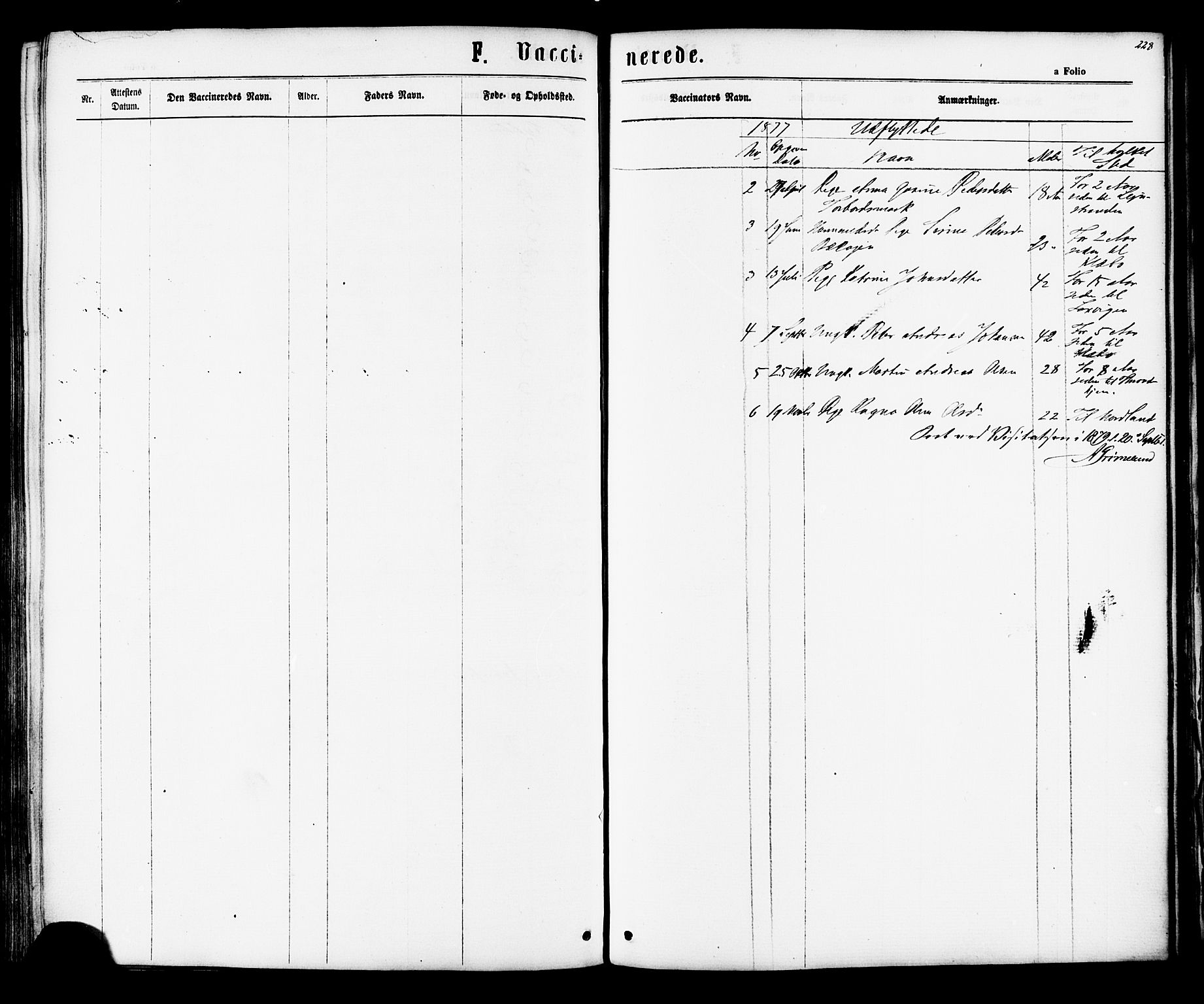 SAT, Ministerialprotokoller, klokkerbøker og fødselsregistre - Sør-Trøndelag, 616/L0409: Ministerialbok nr. 616A06, 1865-1877, s. 228