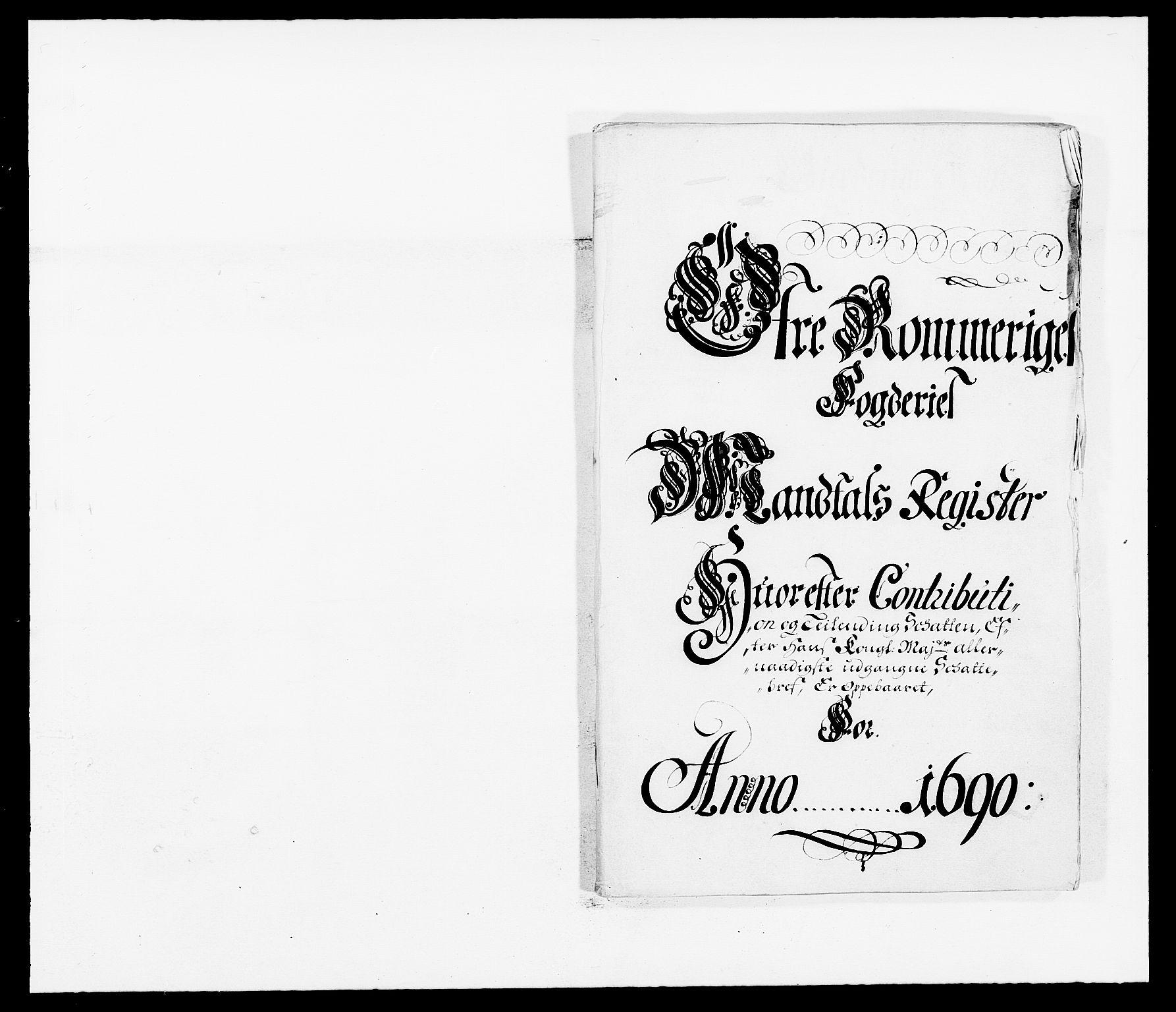 RA, Rentekammeret inntil 1814, Reviderte regnskaper, Fogderegnskap, R12/L0702: Fogderegnskap Øvre Romerike, 1690, s. 77