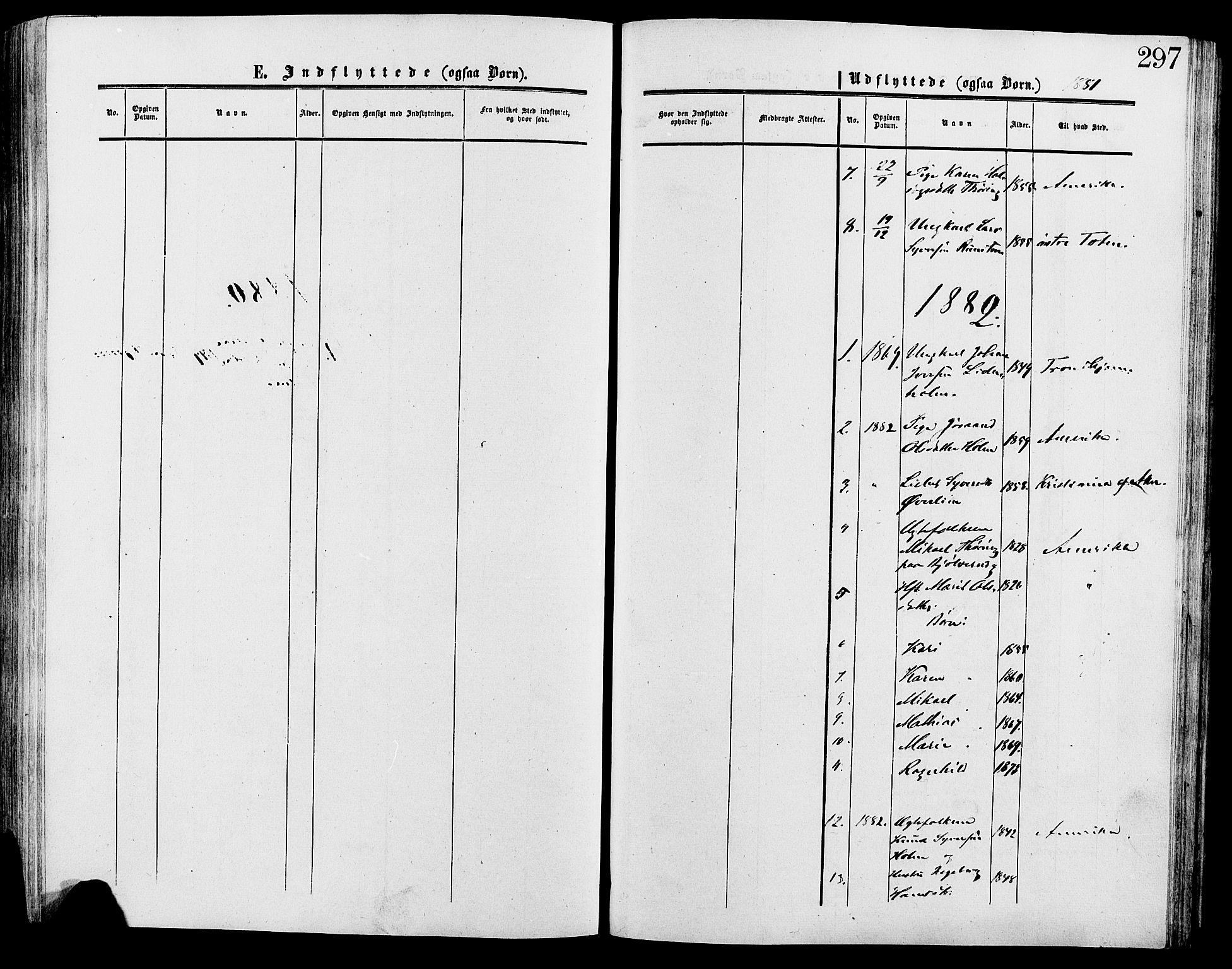 SAH, Lesja prestekontor, Ministerialbok nr. 9, 1854-1889, s. 297