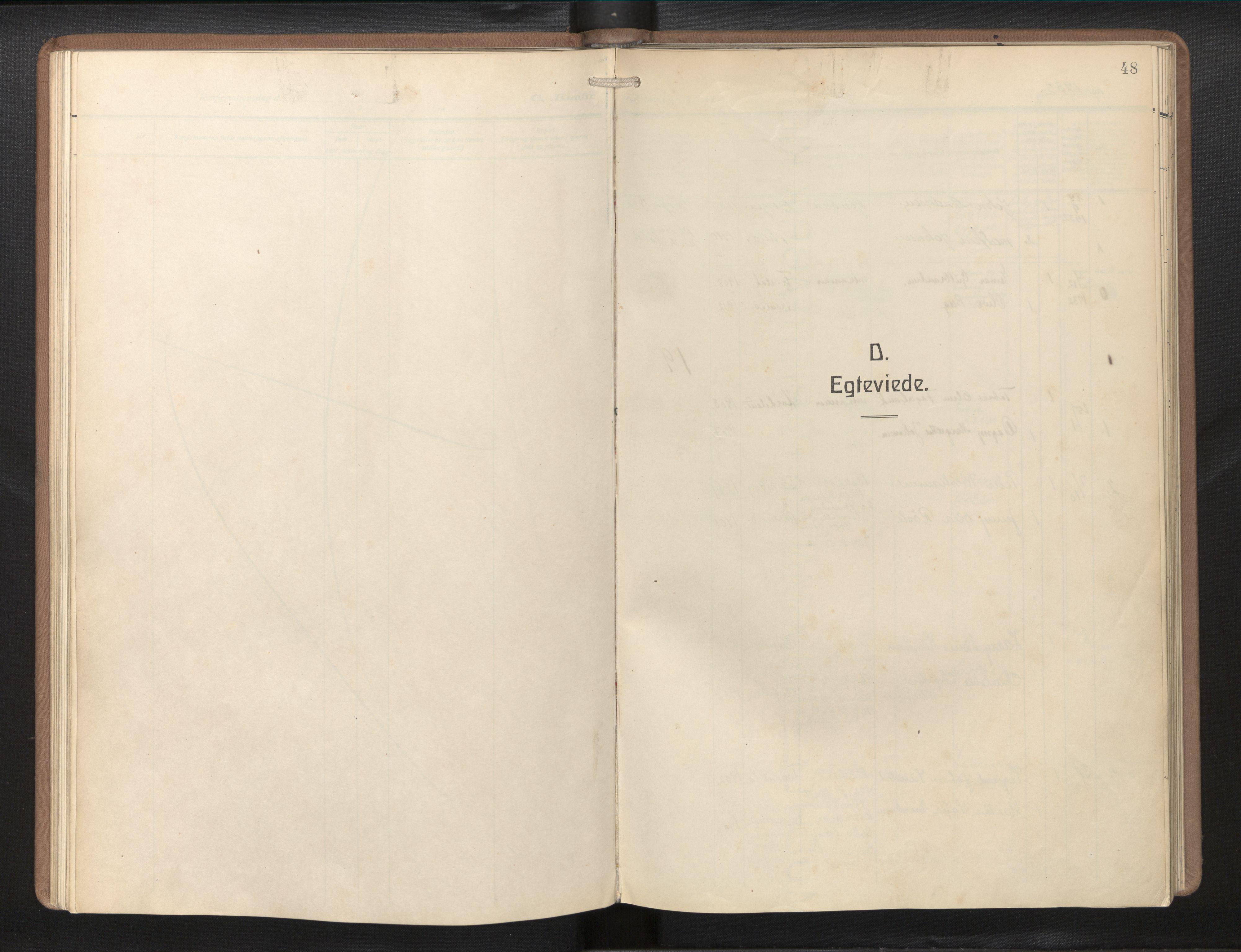 SAB, Privatarkiv 113 - Den norske sjømannsmisjon i utlandet/Philadelphia, H/Ha/L0002: Ministerialbok nr. A 2, 1931-1957, s. 47b-48a