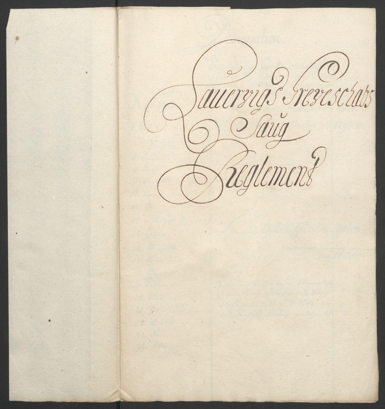 RA, Rentekammeret inntil 1814, Reviderte regnskaper, Fogderegnskap, R33/L1974: Fogderegnskap Larvik grevskap, 1693-1695, s. 169