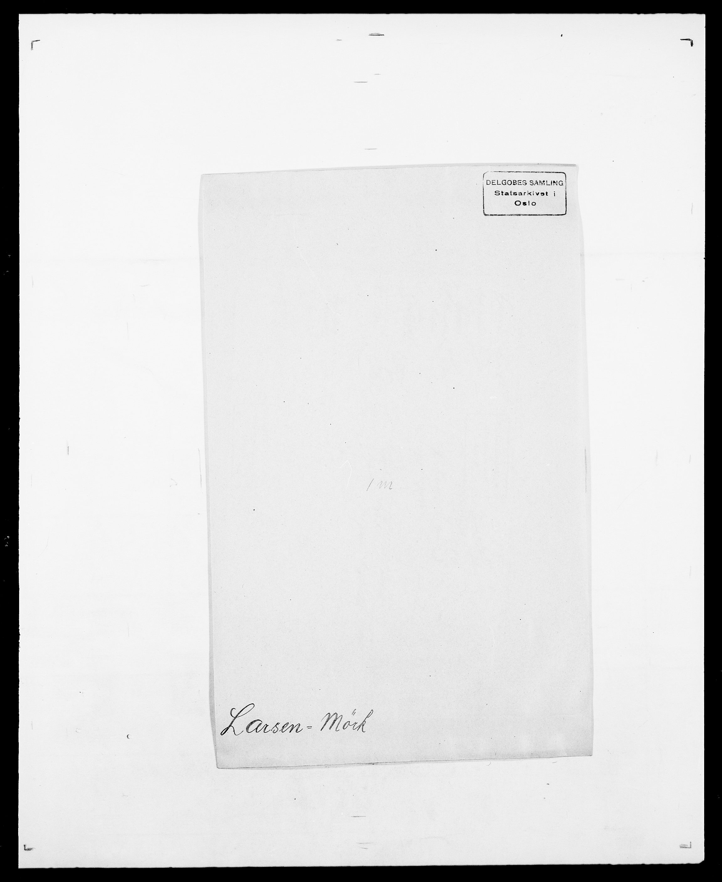 SAO, Delgobe, Charles Antoine - samling, D/Da/L0022: Krog - Lasteen, s. 793