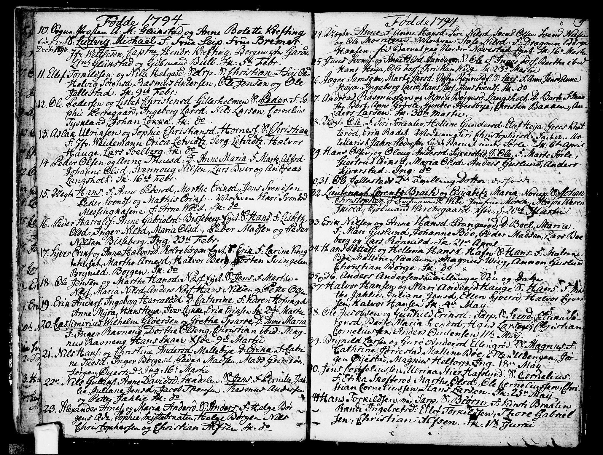SAO, Skjeberg prestekontor Kirkebøker, F/Fa/L0003: Ministerialbok nr. I 3, 1792-1814, s. 9