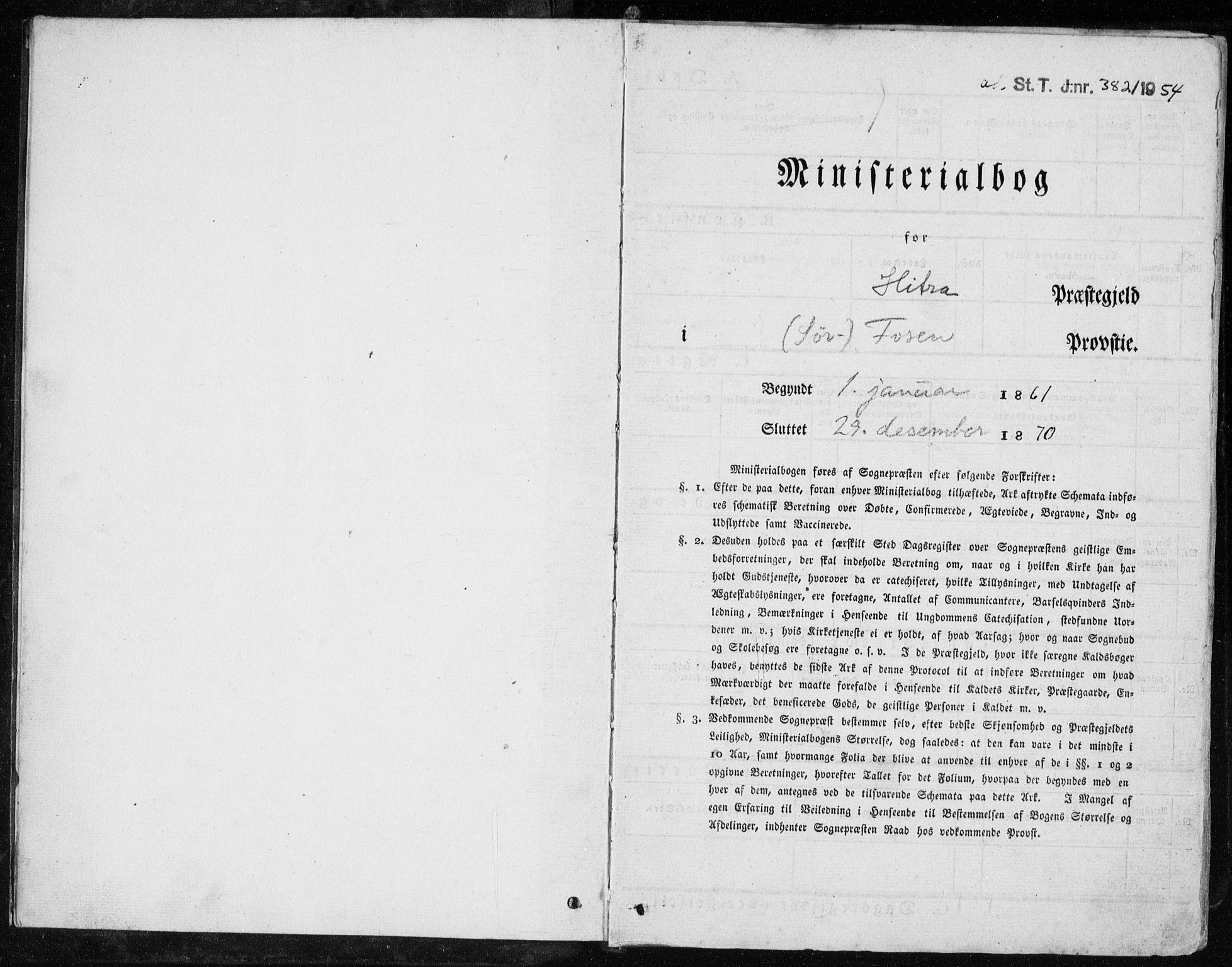 SAT, Ministerialprotokoller, klokkerbøker og fødselsregistre - Sør-Trøndelag, 634/L0531: Ministerialbok nr. 634A07, 1861-1870