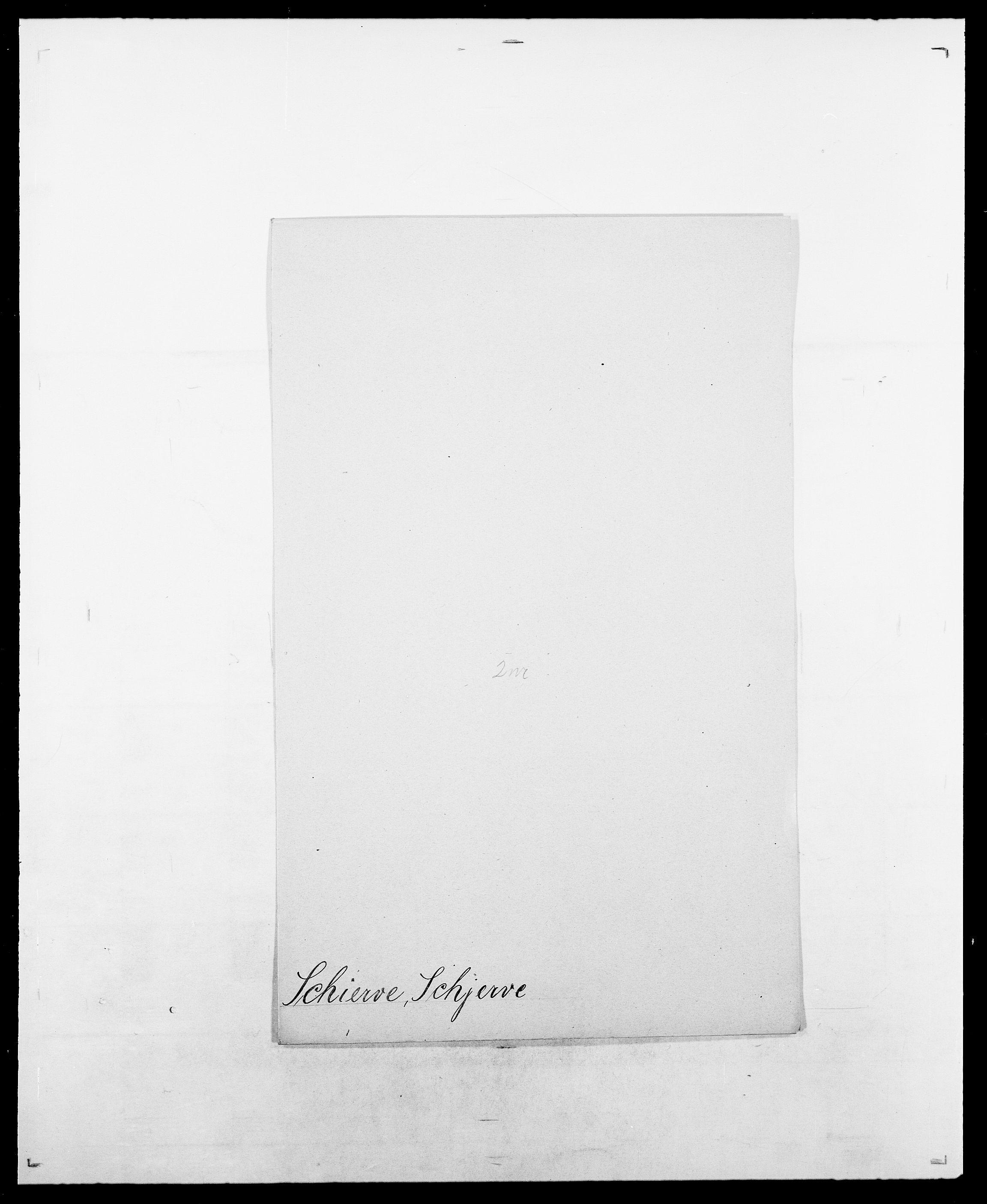 SAO, Delgobe, Charles Antoine - samling, D/Da/L0034: Saabye - Schmincke, s. 520