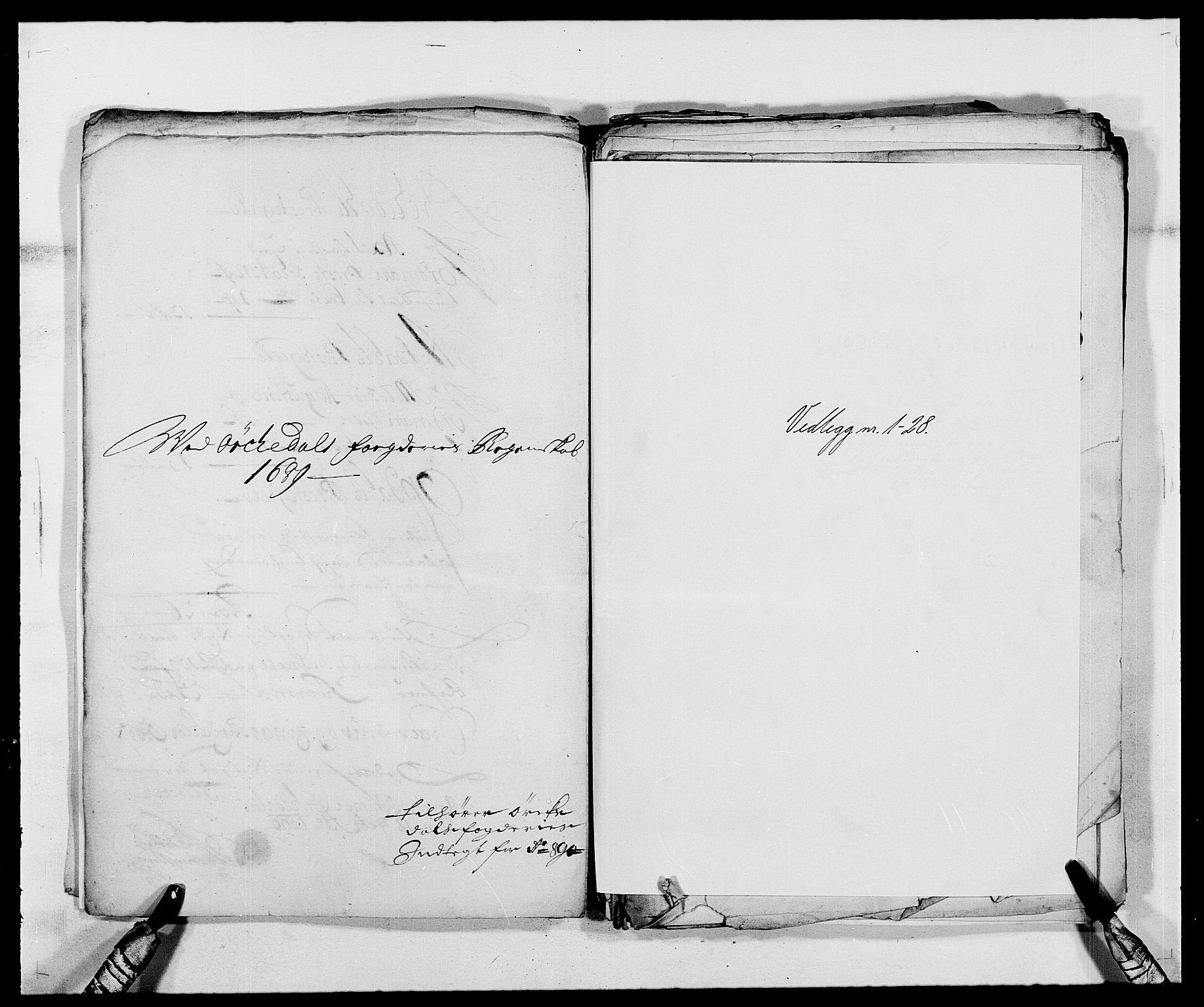 RA, Rentekammeret inntil 1814, Reviderte regnskaper, Fogderegnskap, R58/L3936: Fogderegnskap Orkdal, 1689-1690, s. 181