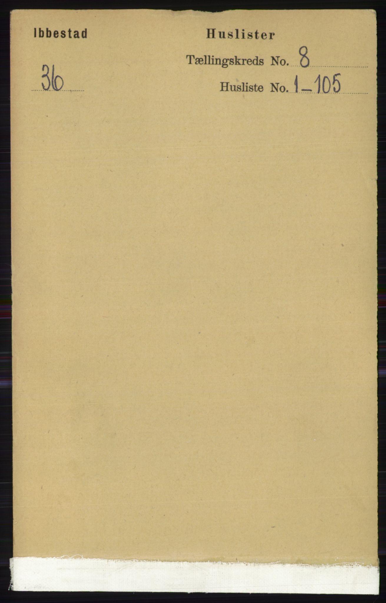 RA, Folketelling 1891 for 1917 Ibestad herred, 1891, s. 5126
