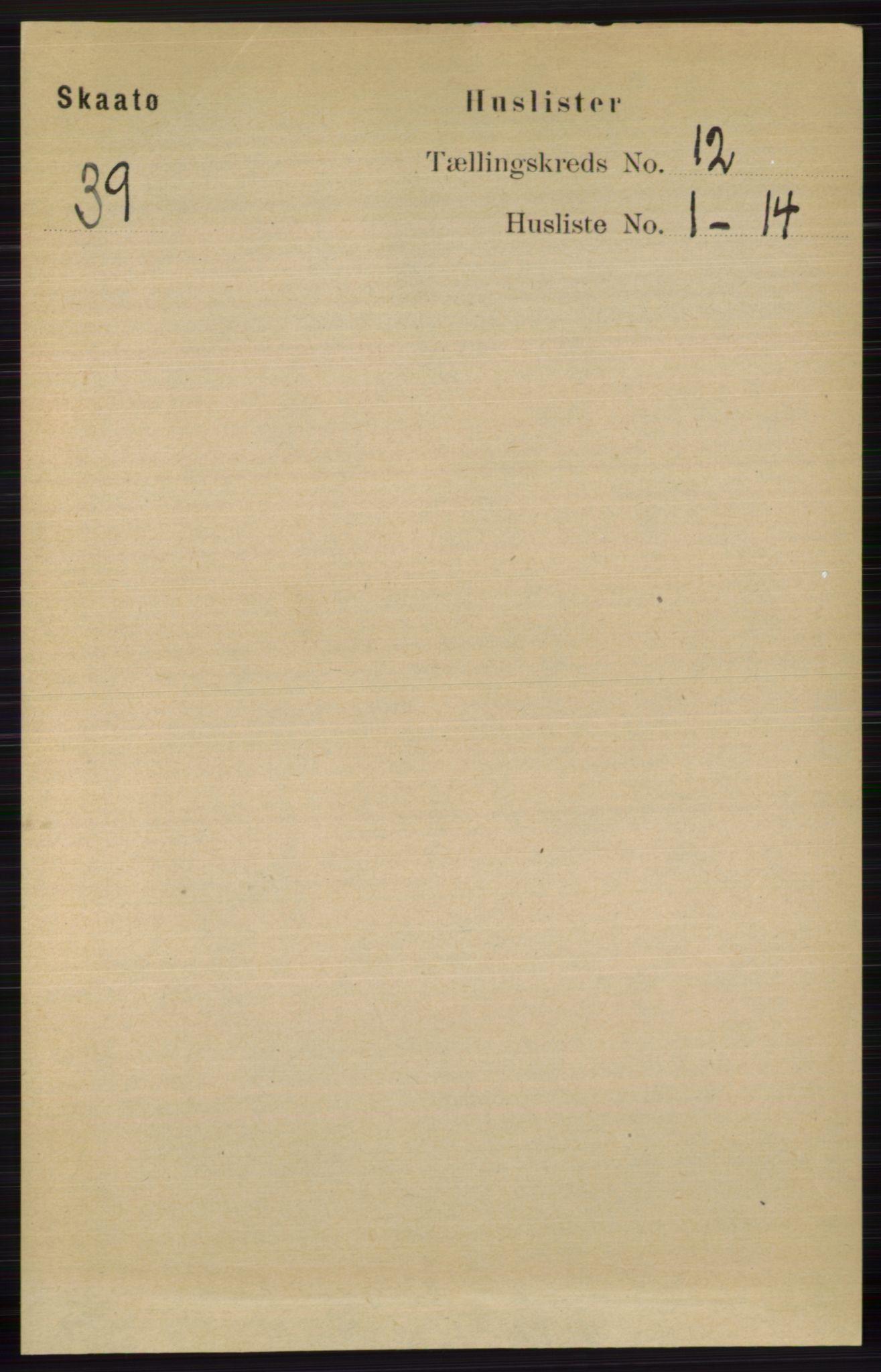 RA, Folketelling 1891 for 0815 Skåtøy herred, 1891, s. 4273