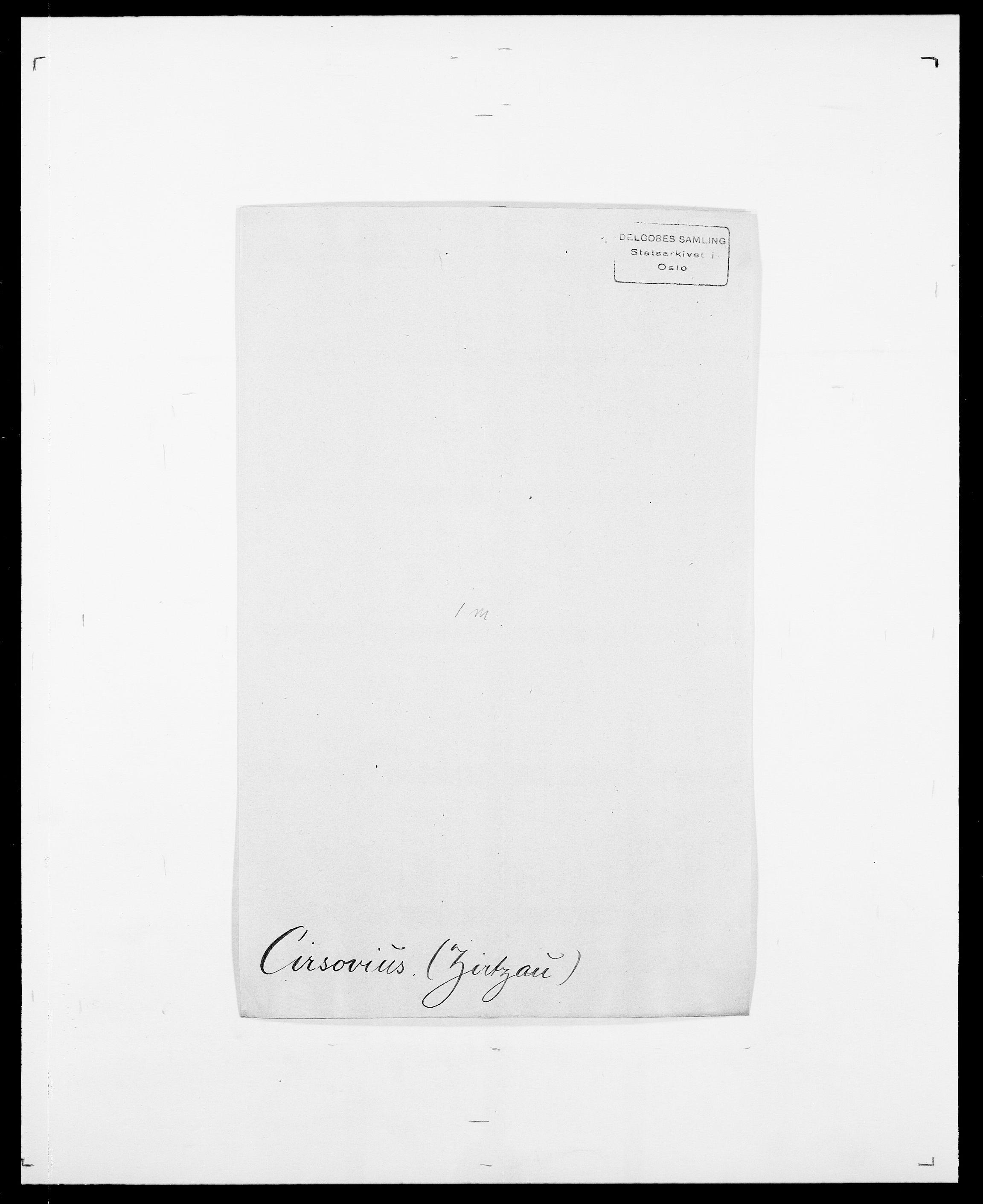 SAO, Delgobe, Charles Antoine - samling, D/Da/L0008: Capjon - Dagenbolt, s. 304