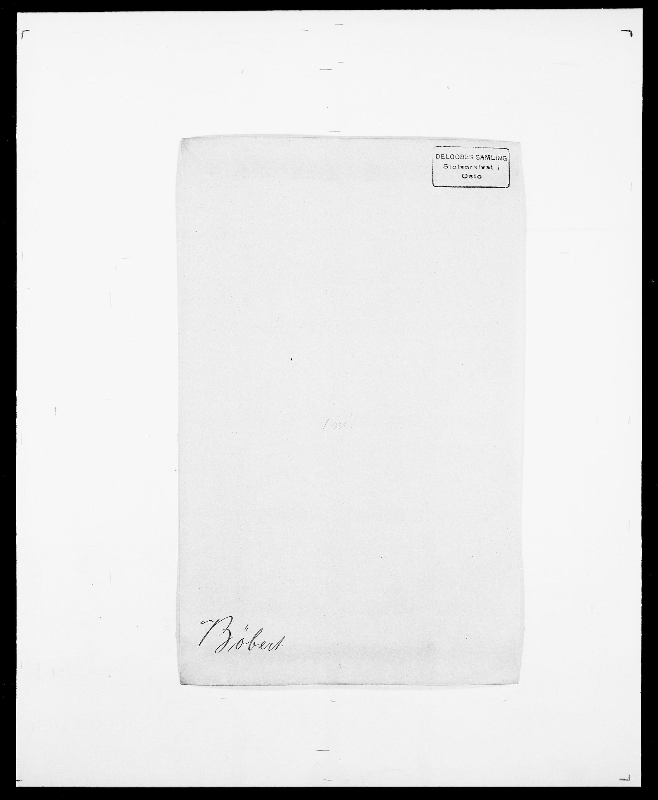 SAO, Delgobe, Charles Antoine - samling, D/Da/L0007: Buaas - Caphengst, s. 563
