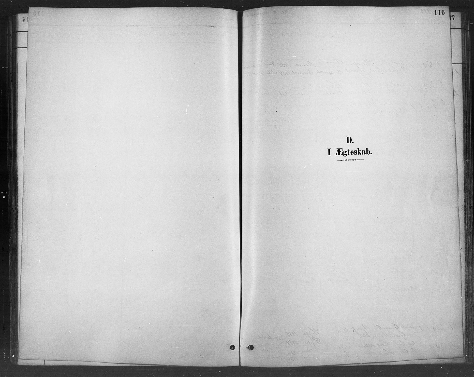 SAH, Nord-Aurdal prestekontor, Klokkerbok nr. 8, 1883-1916, s. 116