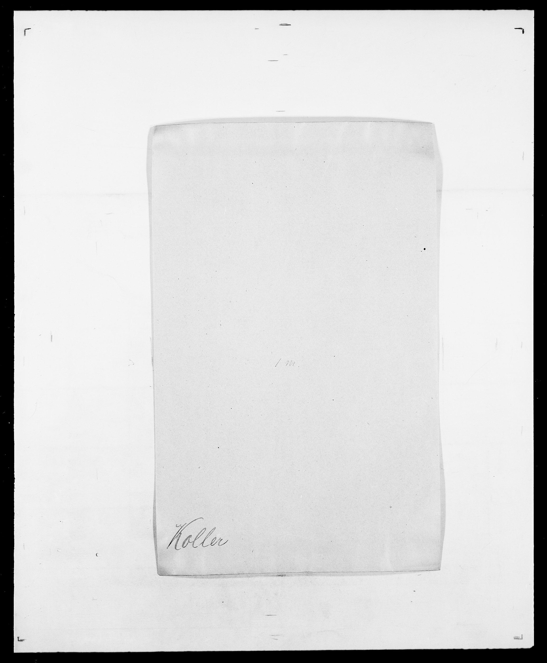SAO, Delgobe, Charles Antoine - samling, D/Da/L0021: Klagenberg - Kristoft, s. 501