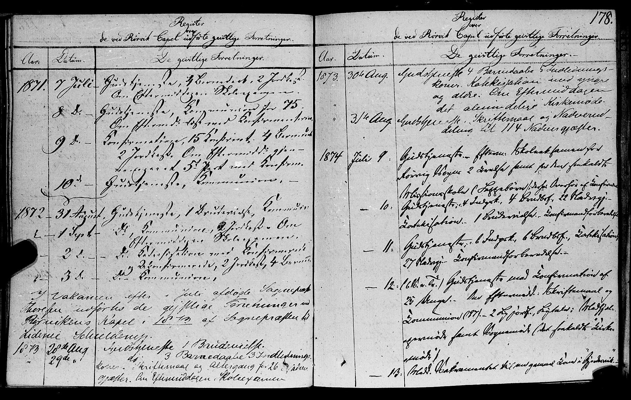 SAT, Ministerialprotokoller, klokkerbøker og fødselsregistre - Nord-Trøndelag, 762/L0538: Ministerialbok nr. 762A02 /1, 1833-1879, s. 178
