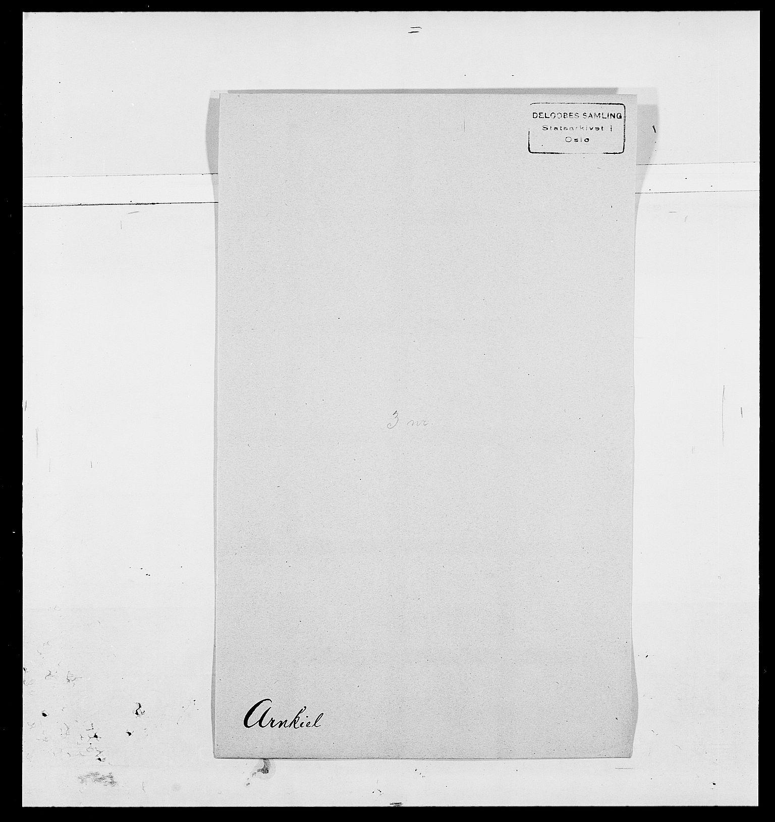 SAO, Delgobe, Charles Antoine - samling, D/Da/L0002: Anker, Ancher - Bauner, s. 358