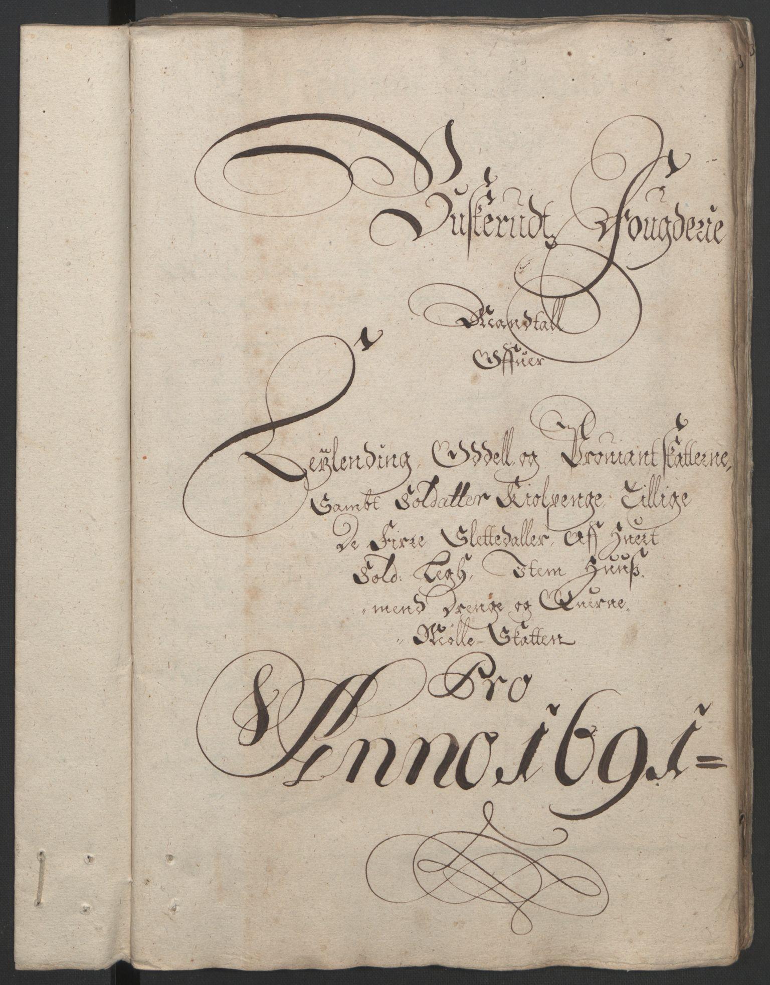 RA, Rentekammeret inntil 1814, Reviderte regnskaper, Fogderegnskap, R25/L1681: Fogderegnskap Buskerud, 1691-1692, s. 102