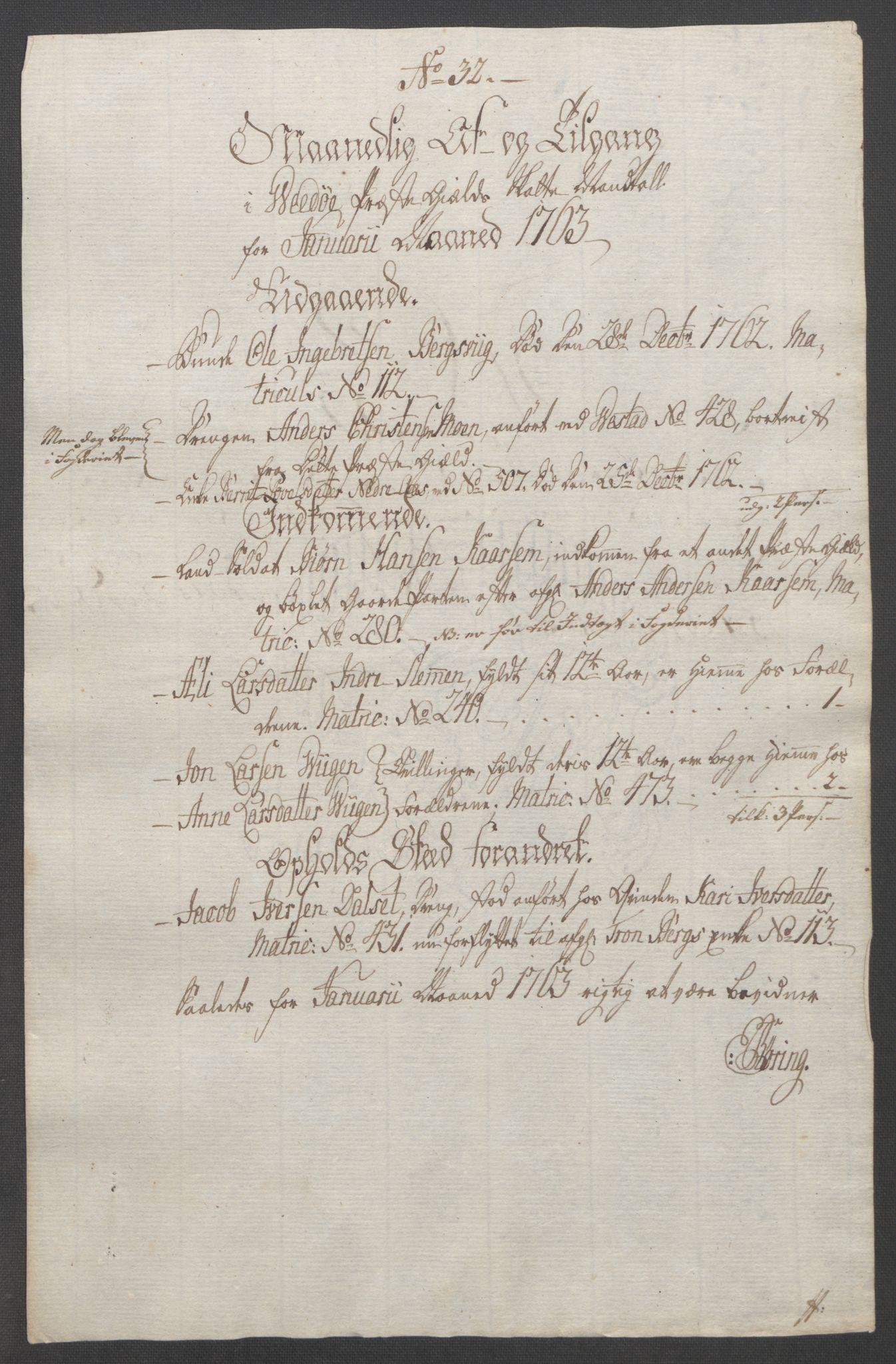 RA, Rentekammeret inntil 1814, Reviderte regnskaper, Fogderegnskap, R55/L3730: Ekstraskatten Romsdal, 1762-1763, s. 433