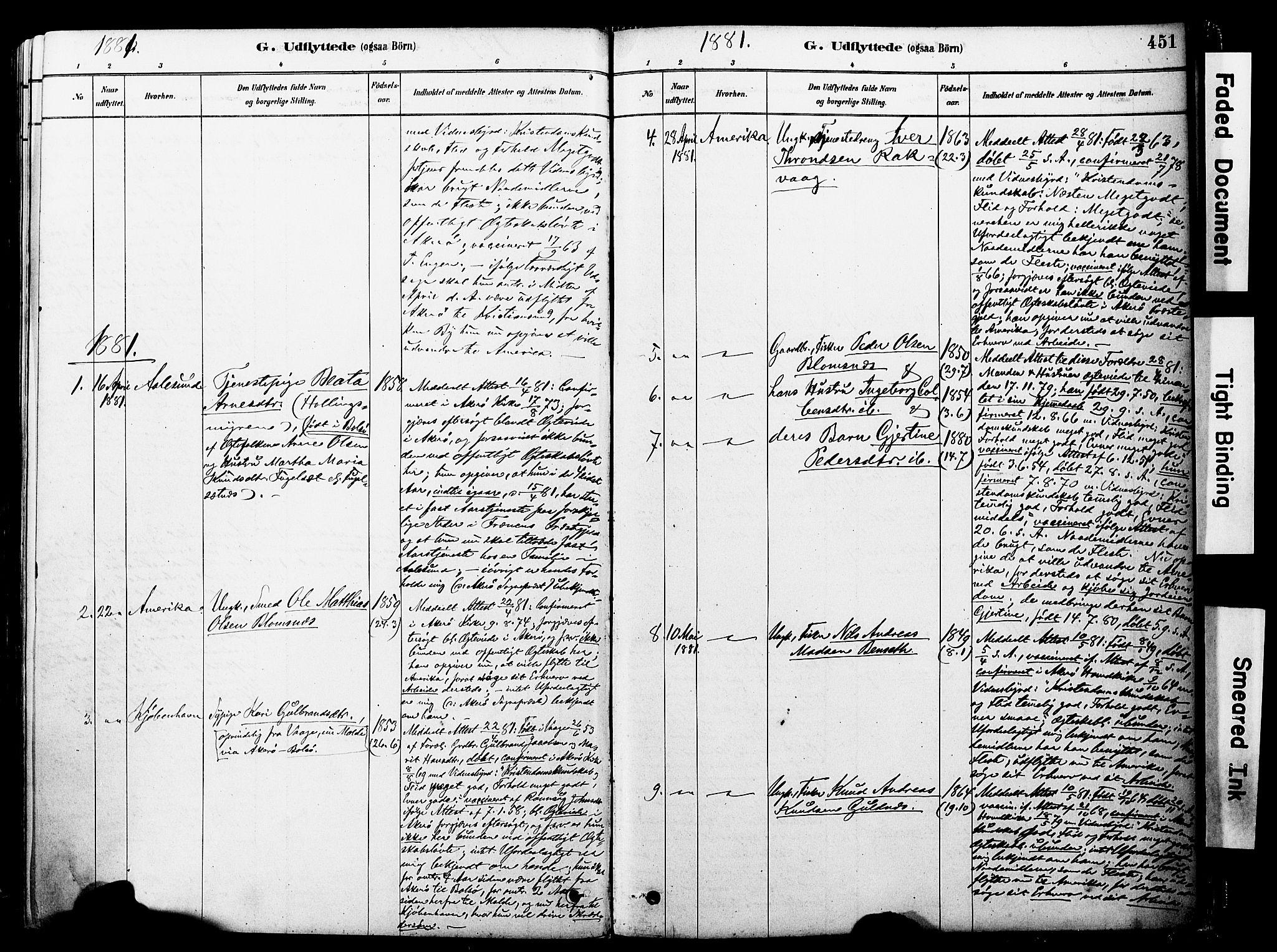 SAT, Ministerialprotokoller, klokkerbøker og fødselsregistre - Møre og Romsdal, 560/L0721: Ministerialbok nr. 560A05, 1878-1917, s. 451