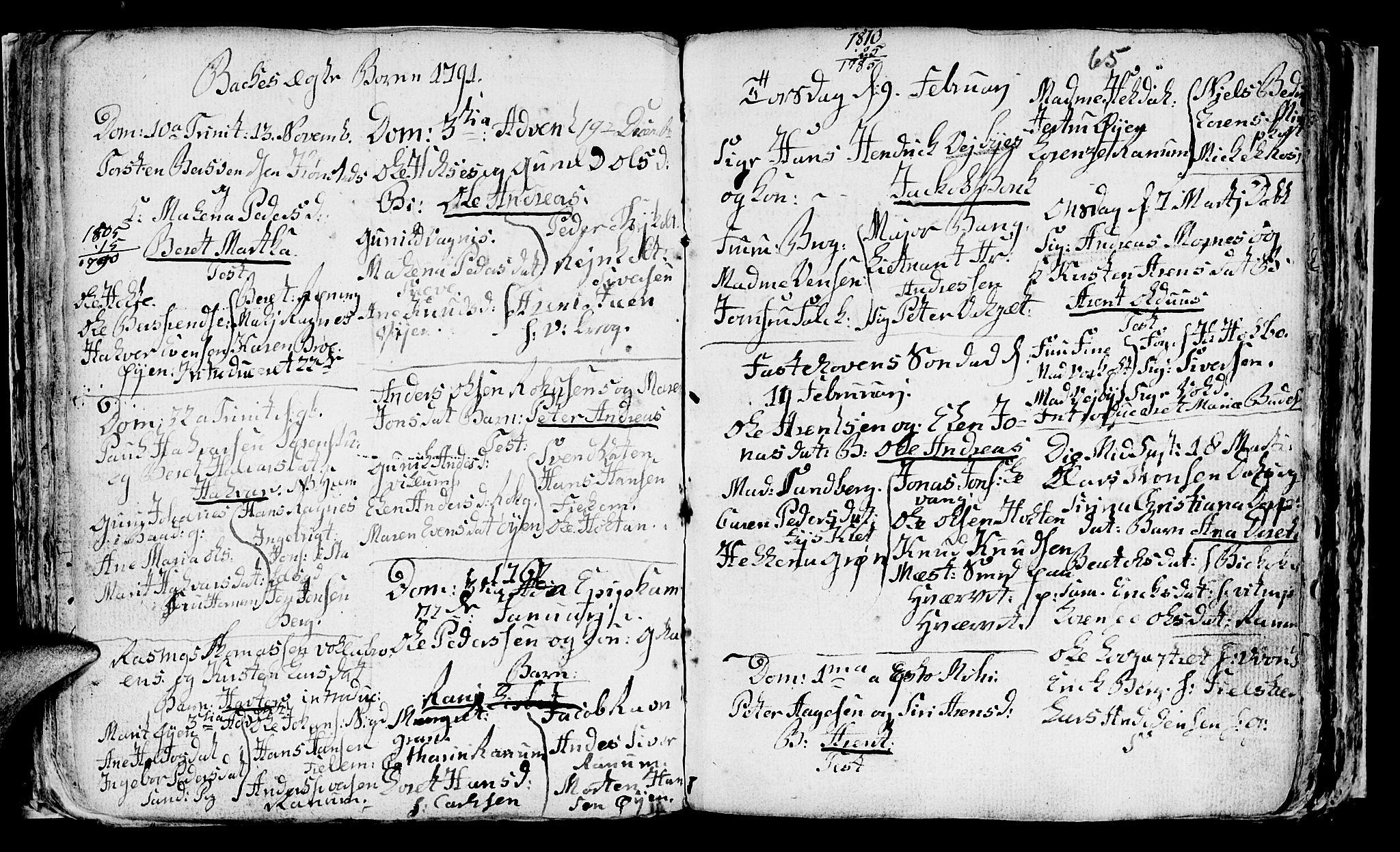 SAT, Ministerialprotokoller, klokkerbøker og fødselsregistre - Sør-Trøndelag, 604/L0218: Klokkerbok nr. 604C01, 1754-1819, s. 65