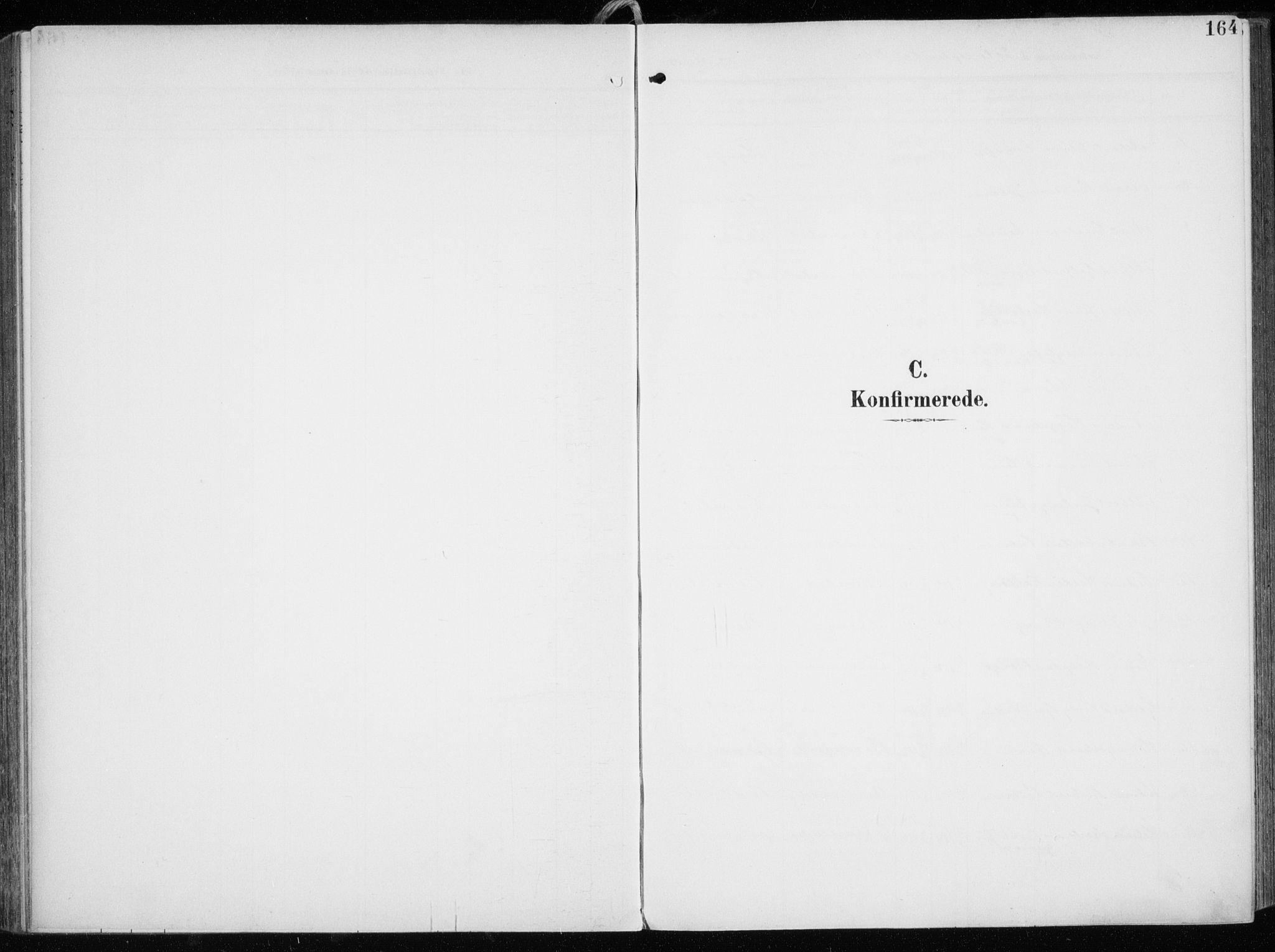 SATØ, Tromsøysund sokneprestkontor, G/Ga/L0007kirke: Ministerialbok nr. 7, 1907-1914, s. 164