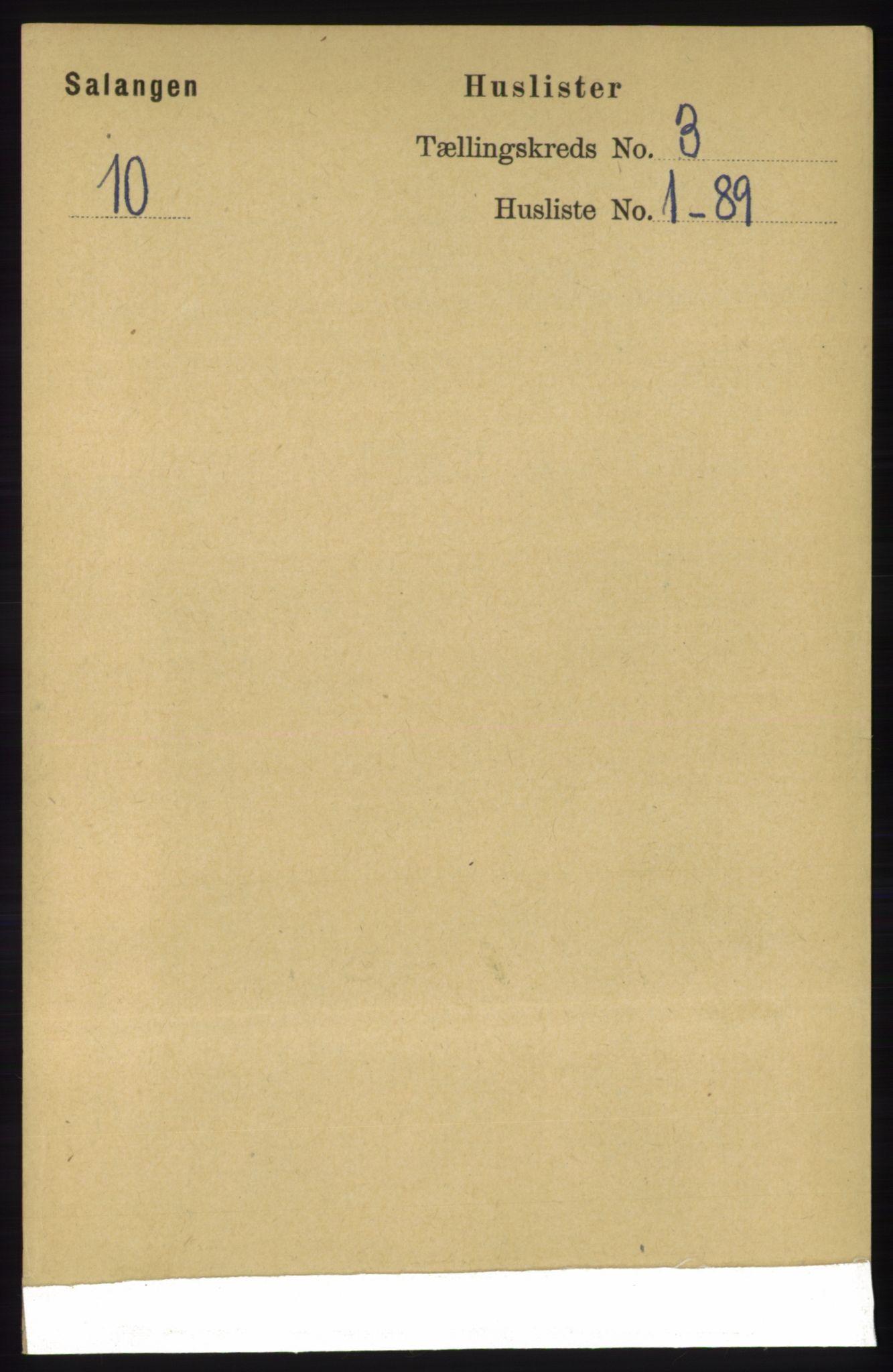 RA, Folketelling 1891 for 1921 Salangen herred, 1891, s. 1146