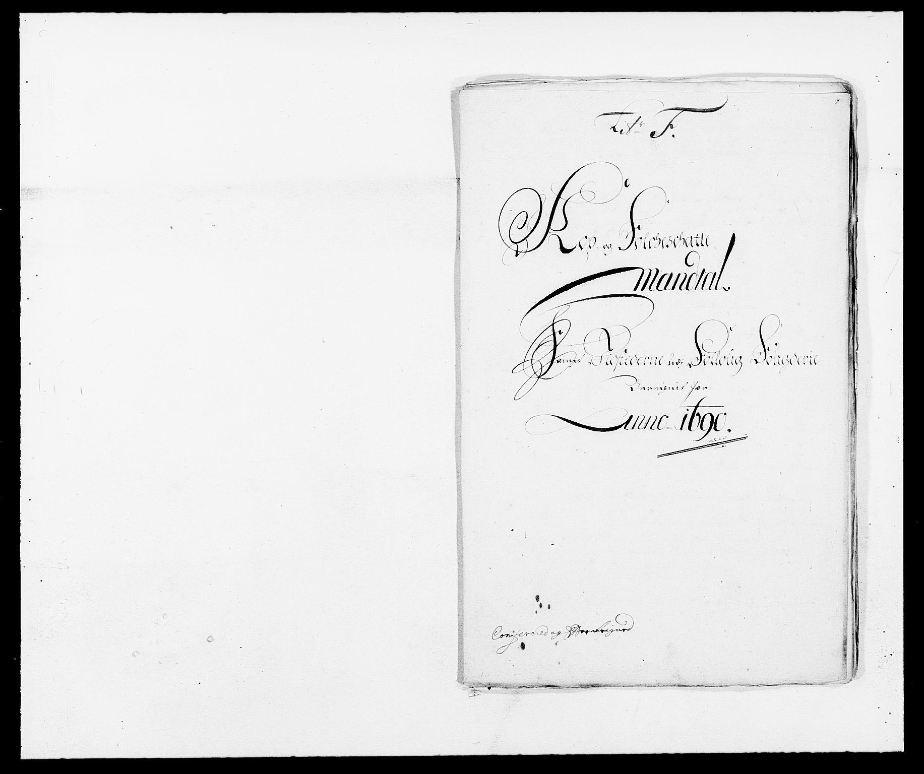RA, Rentekammeret inntil 1814, Reviderte regnskaper, Fogderegnskap, R09/L0435: Fogderegnskap Follo, 1689-1691, s. 374