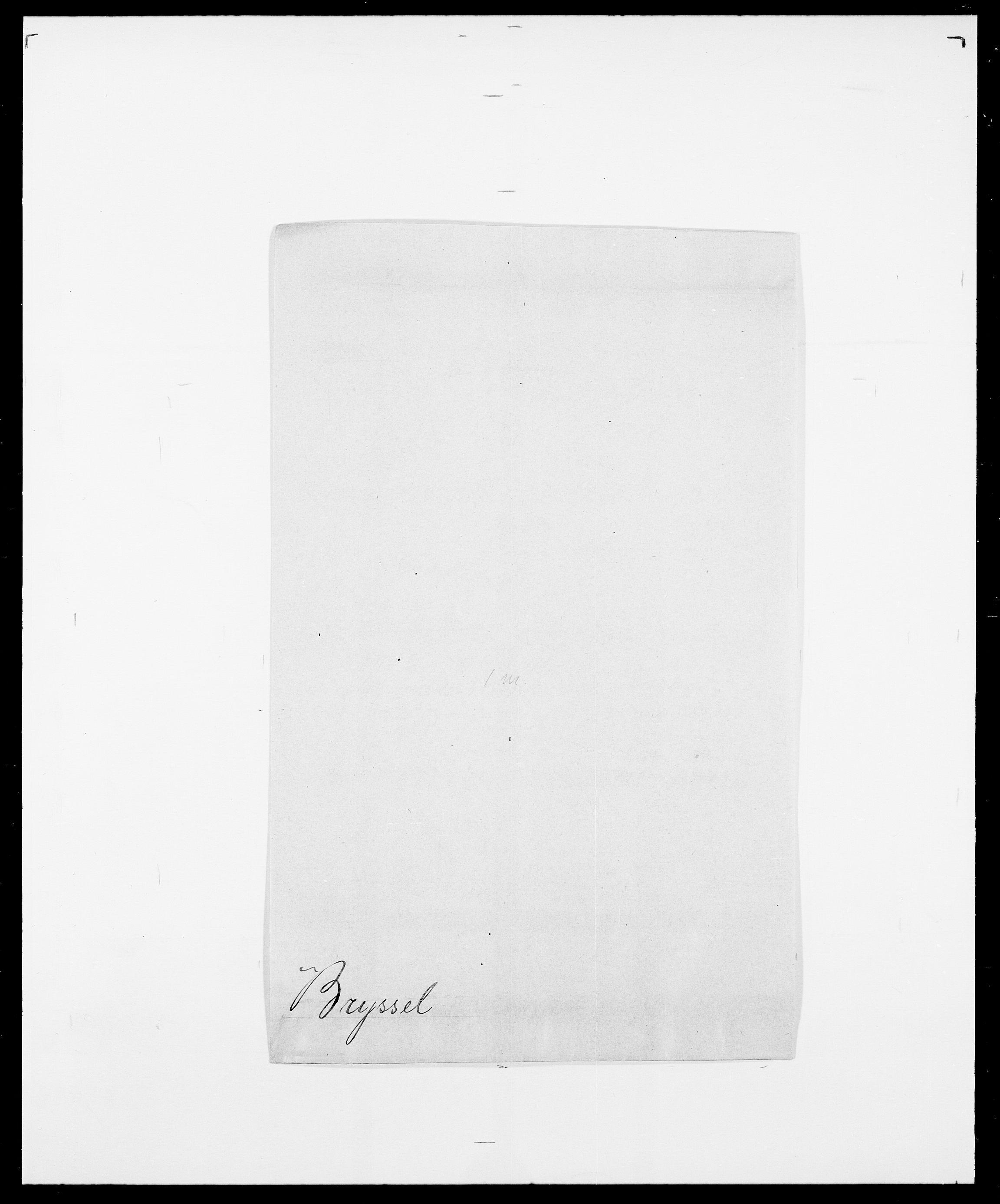 SAO, Delgobe, Charles Antoine - samling, D/Da/L0006: Brambani - Brønø, s. 929