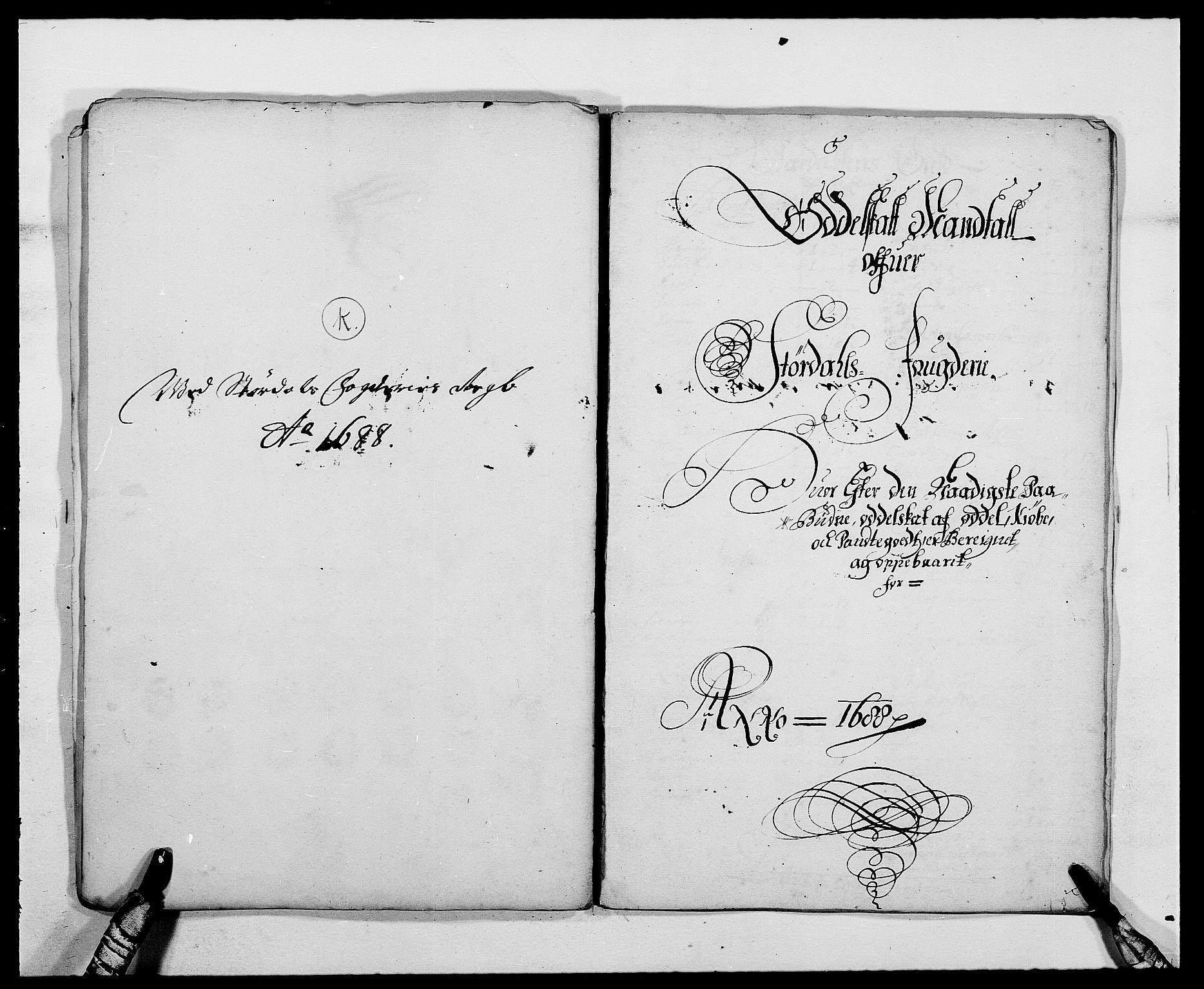 RA, Rentekammeret inntil 1814, Reviderte regnskaper, Fogderegnskap, R62/L4183: Fogderegnskap Stjørdal og Verdal, 1687-1689, s. 223