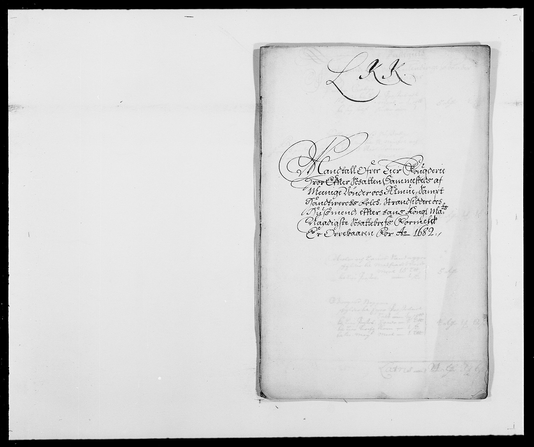 RA, Rentekammeret inntil 1814, Reviderte regnskaper, Fogderegnskap, R27/L1686: Fogderegnskap Lier, 1678-1686, s. 382
