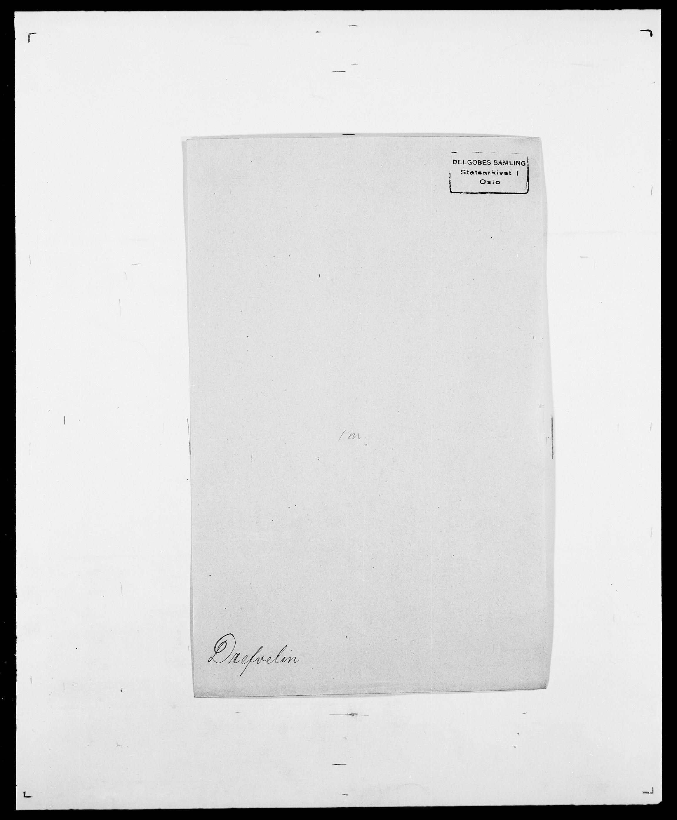 SAO, Delgobe, Charles Antoine - samling, D/Da/L0009: Dahl - v. Düren, s. 736