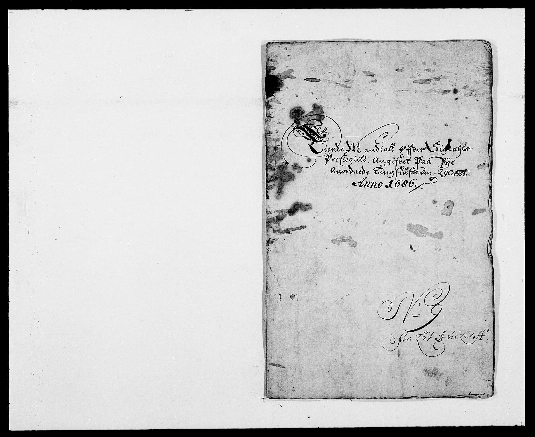 RA, Rentekammeret inntil 1814, Reviderte regnskaper, Fogderegnskap, R25/L1678: Fogderegnskap Buskerud, 1685-1686, s. 372
