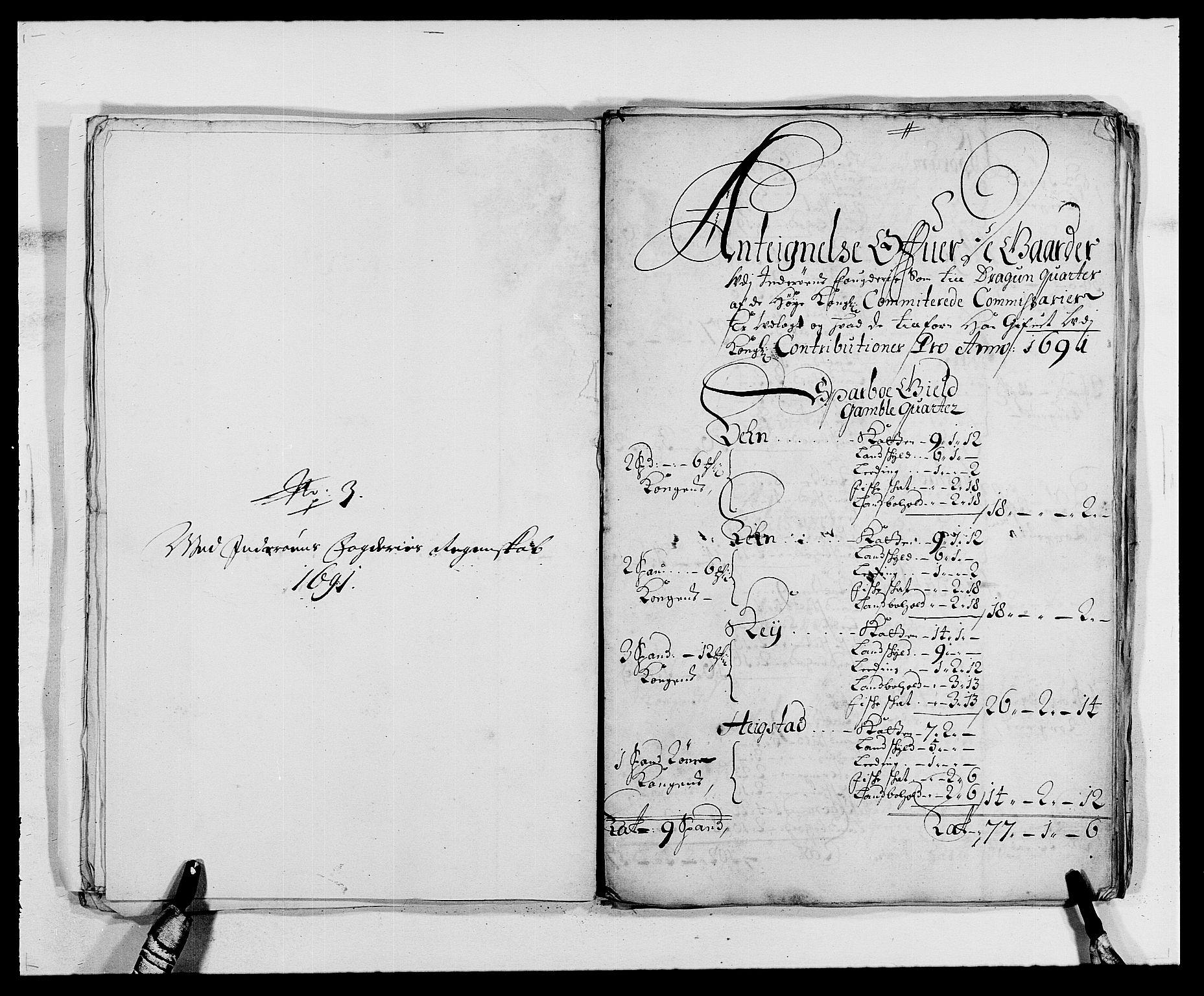 RA, Rentekammeret inntil 1814, Reviderte regnskaper, Fogderegnskap, R63/L4307: Fogderegnskap Inderøy, 1690-1691, s. 421