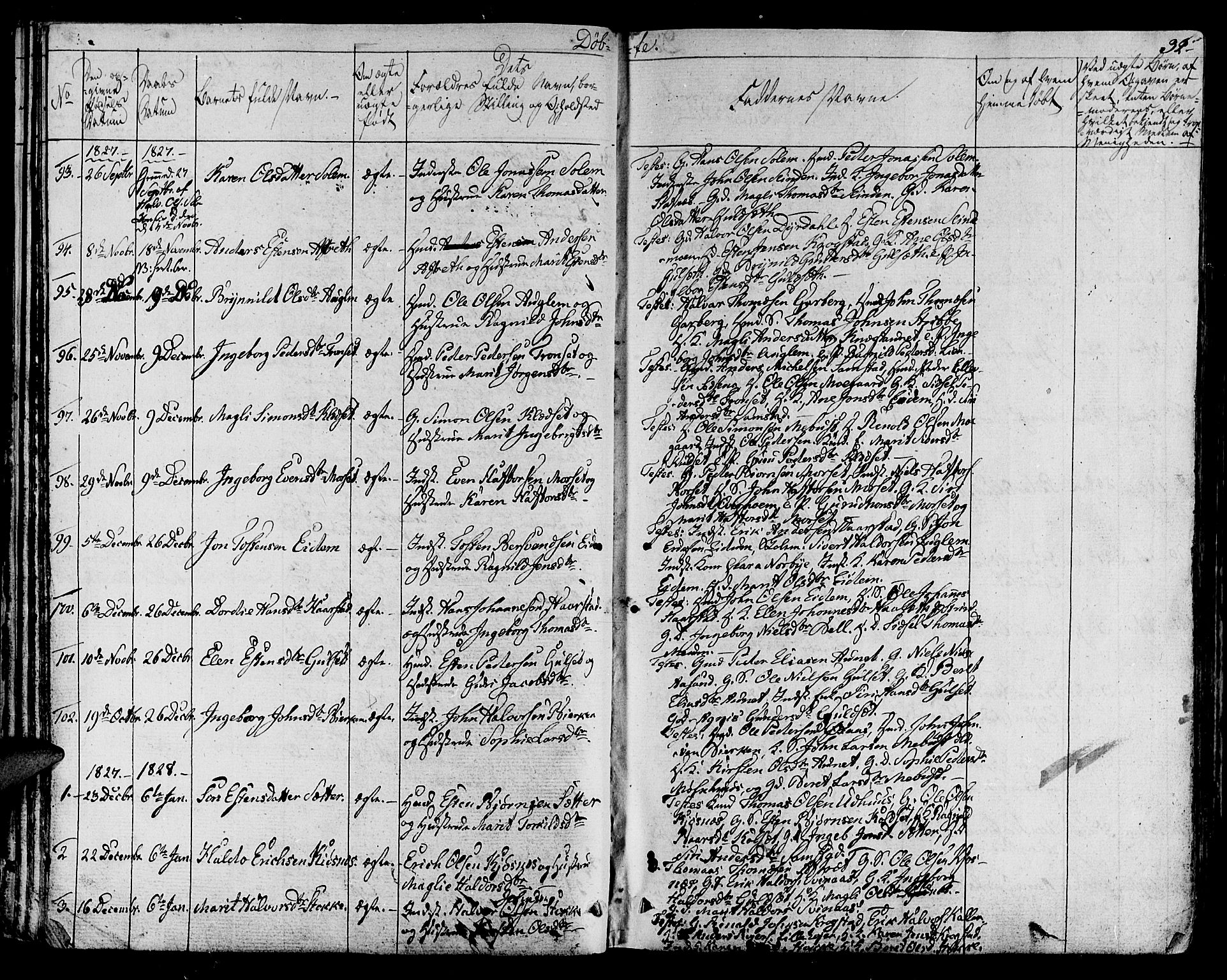 SAT, Ministerialprotokoller, klokkerbøker og fødselsregistre - Sør-Trøndelag, 695/L1143: Ministerialbok nr. 695A05 /1, 1824-1842, s. 32