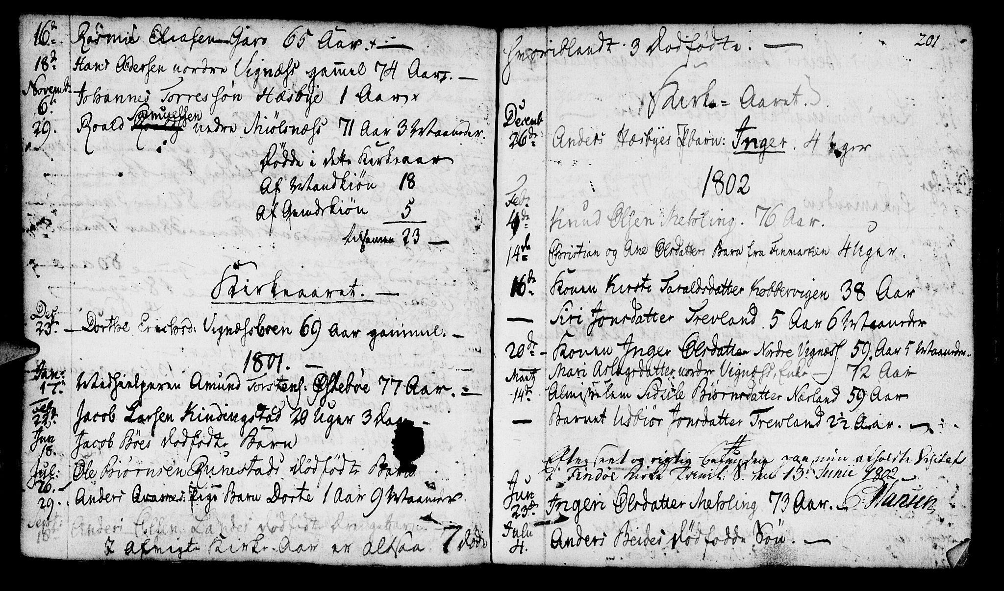 SAST, Finnøy sokneprestkontor, H/Ha/Haa/L0005: Ministerialbok nr. A 5, 1773-1816, s. 201