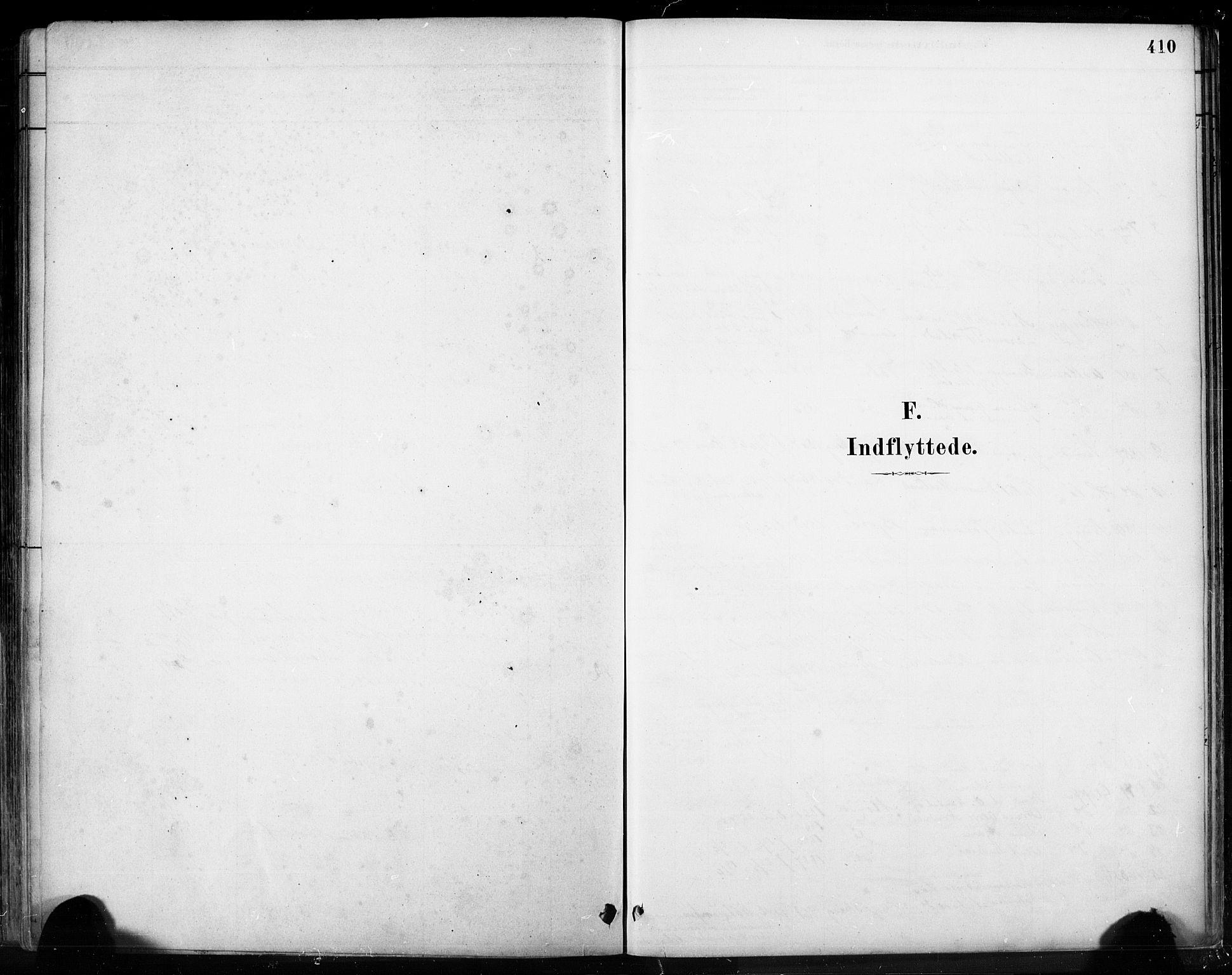 SAB, Fjell sokneprestembete, H/Hab: Klokkerbok nr. A 4, 1880-1899, s. 410