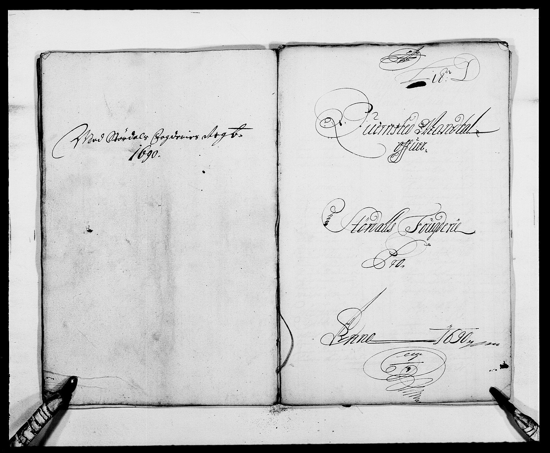 RA, Rentekammeret inntil 1814, Reviderte regnskaper, Fogderegnskap, R62/L4184: Fogderegnskap Stjørdal og Verdal, 1690-1691, s. 85