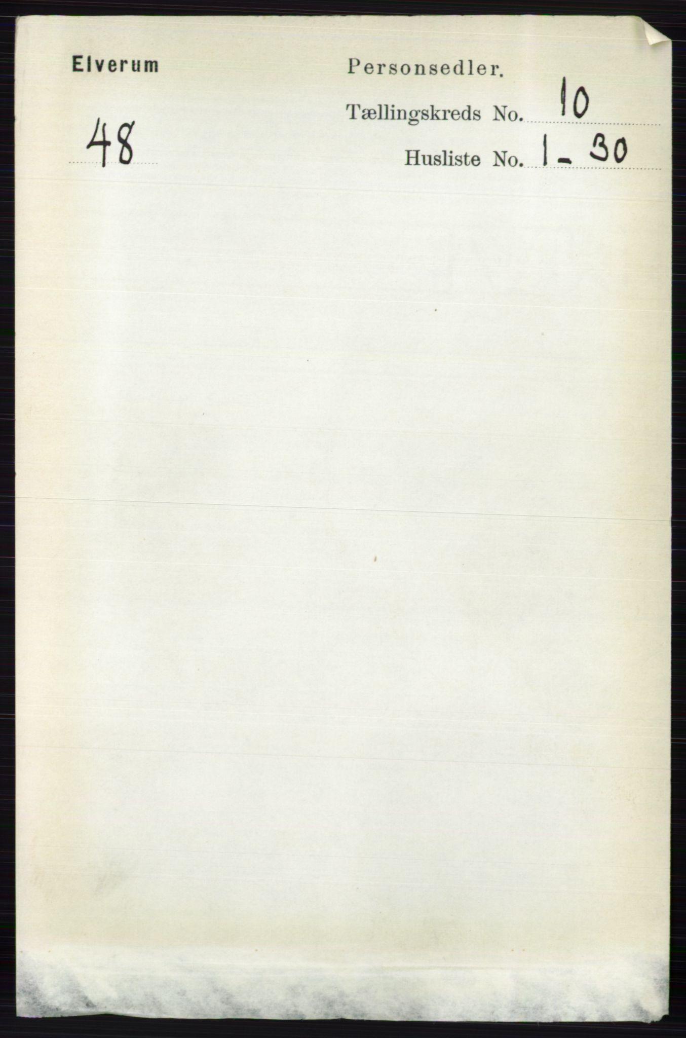 RA, Folketelling 1891 for 0427 Elverum herred, 1891, s. 8201