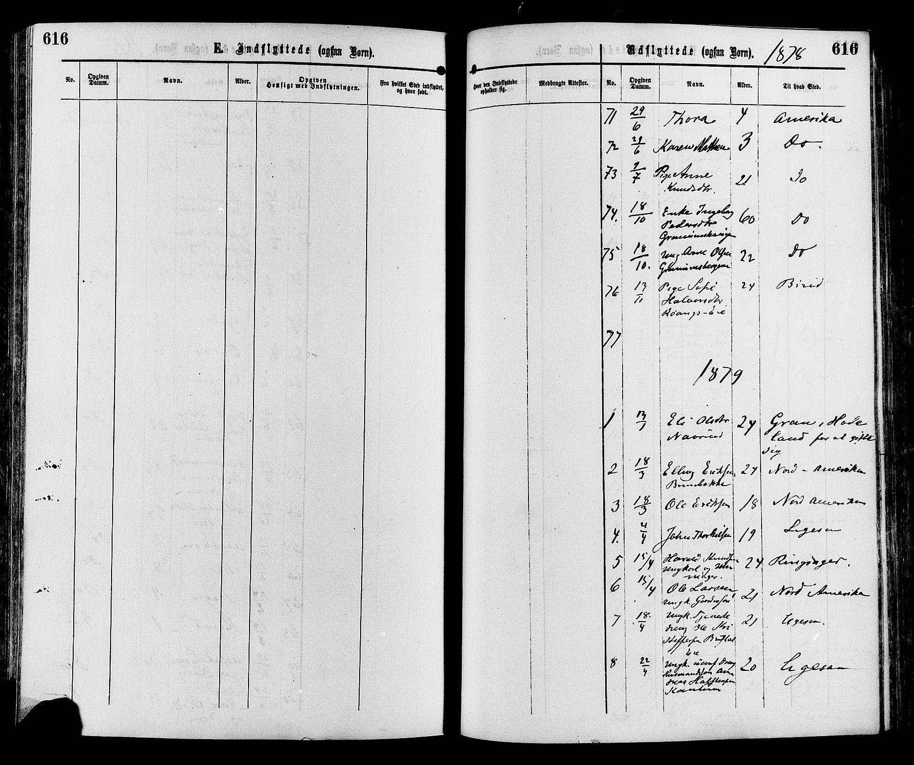 SAH, Sør-Aurdal prestekontor, Ministerialbok nr. 8, 1877-1885, s. 616