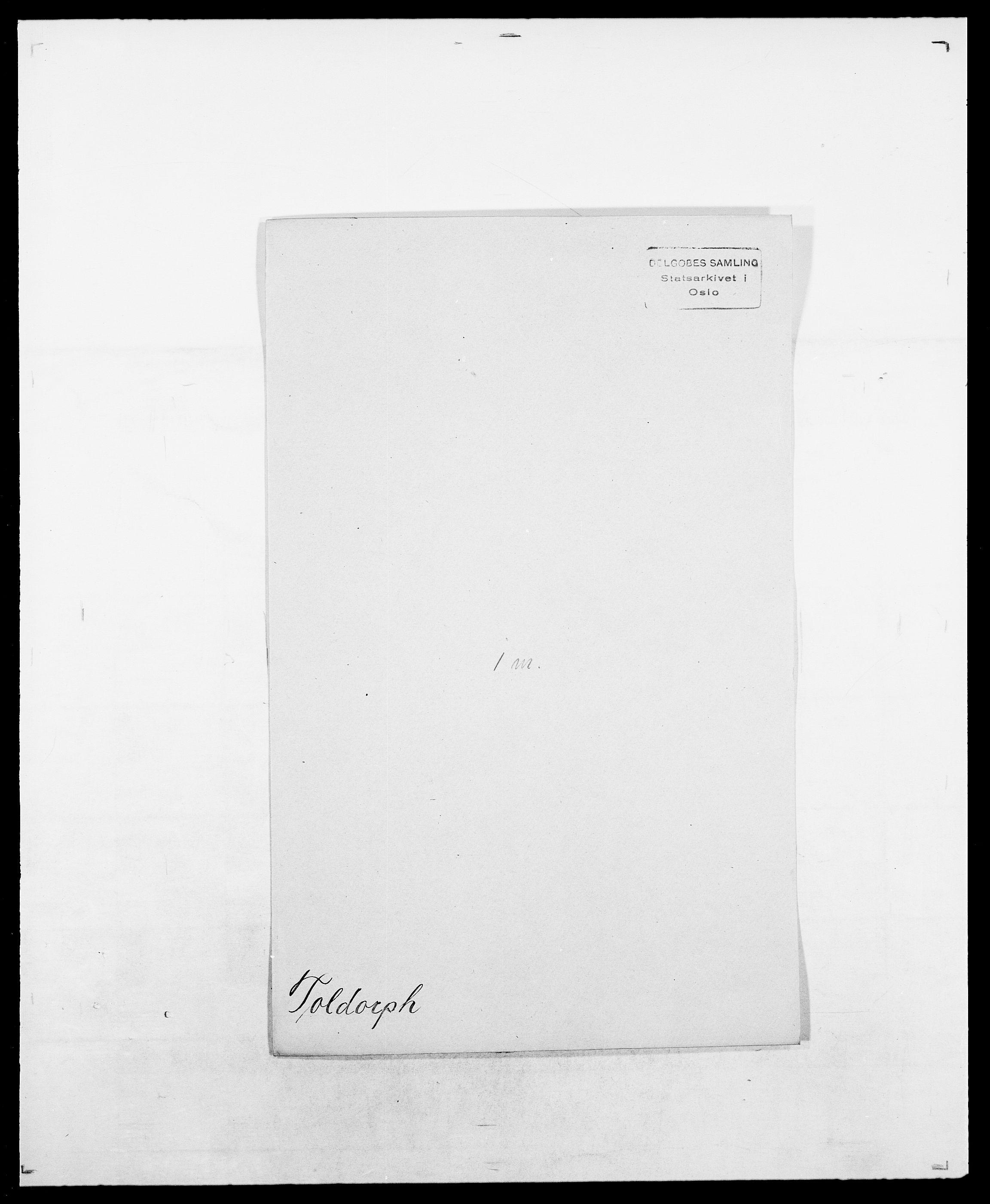 SAO, Delgobe, Charles Antoine - samling, D/Da/L0039: Thorsen - Urup, s. 117