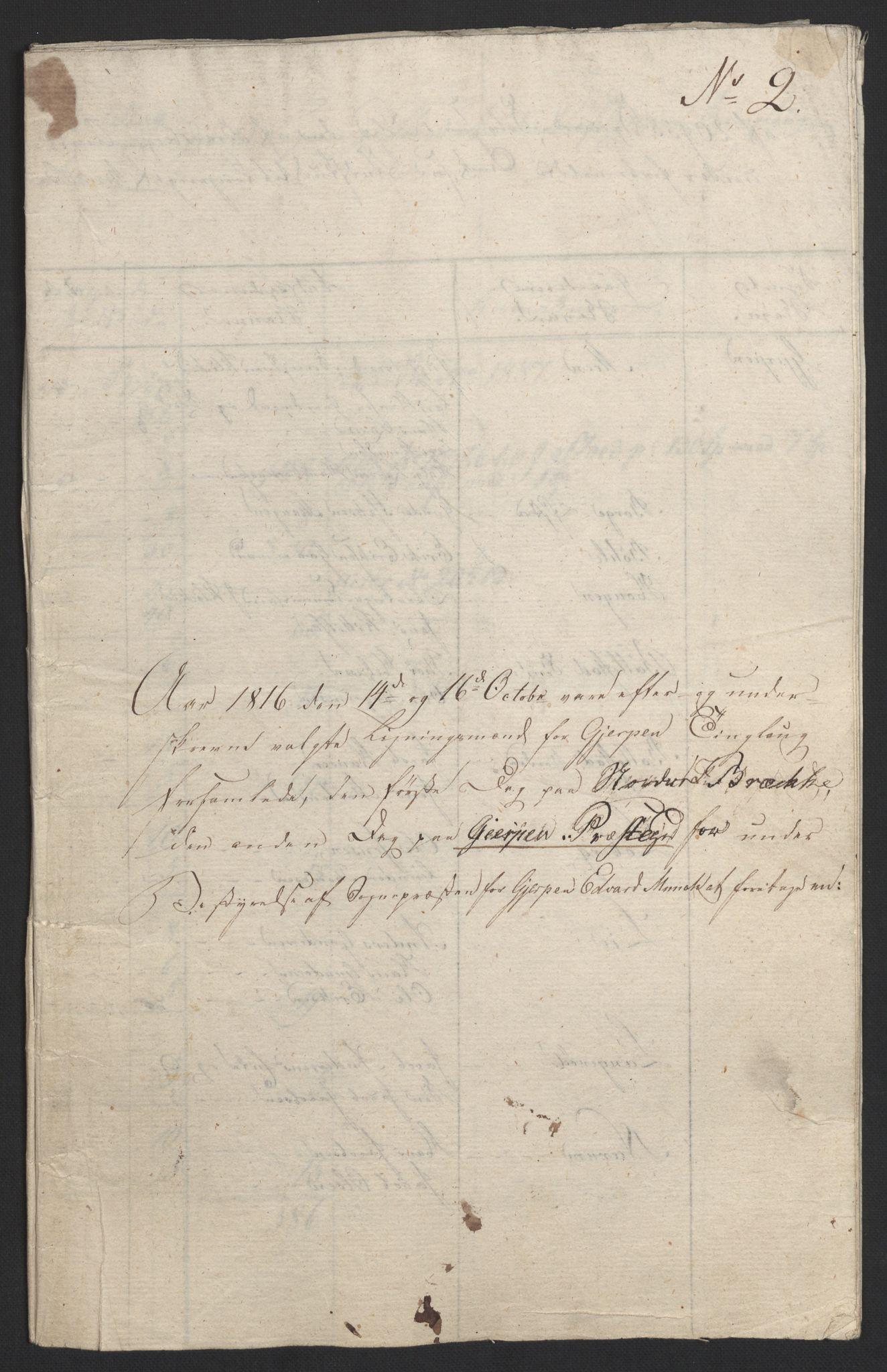 NOBA, Norges Bank/Sølvskatten 1816*, 1816-1824, s. 20