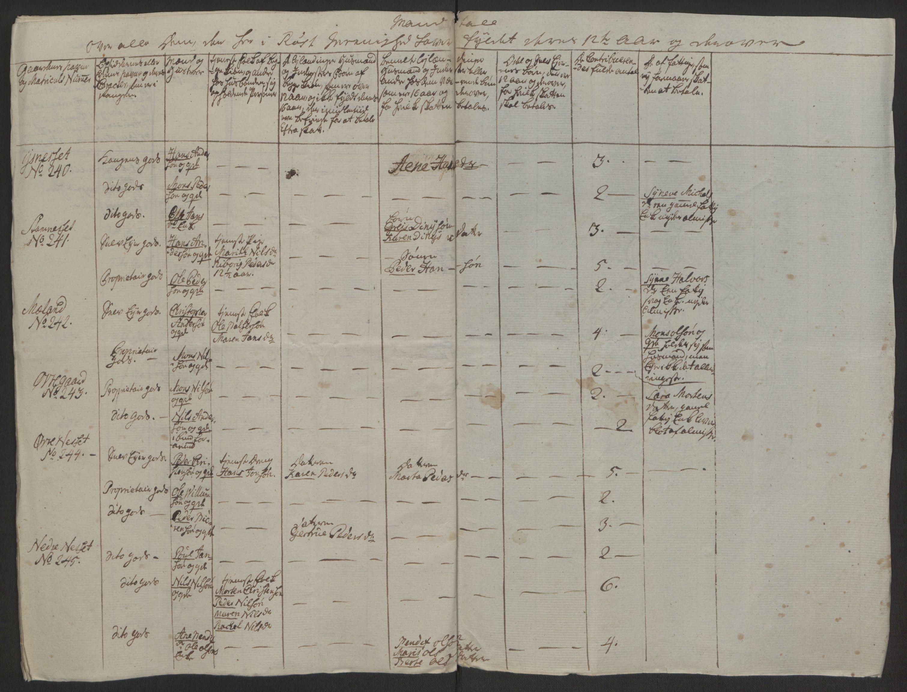 RA, Rentekammeret inntil 1814, Realistisk ordnet avdeling, Ol/L0022a: [Gg 10]: Ekstraskatten, 23.09.1762. Nordlands amt, 1763-1769, s. 348