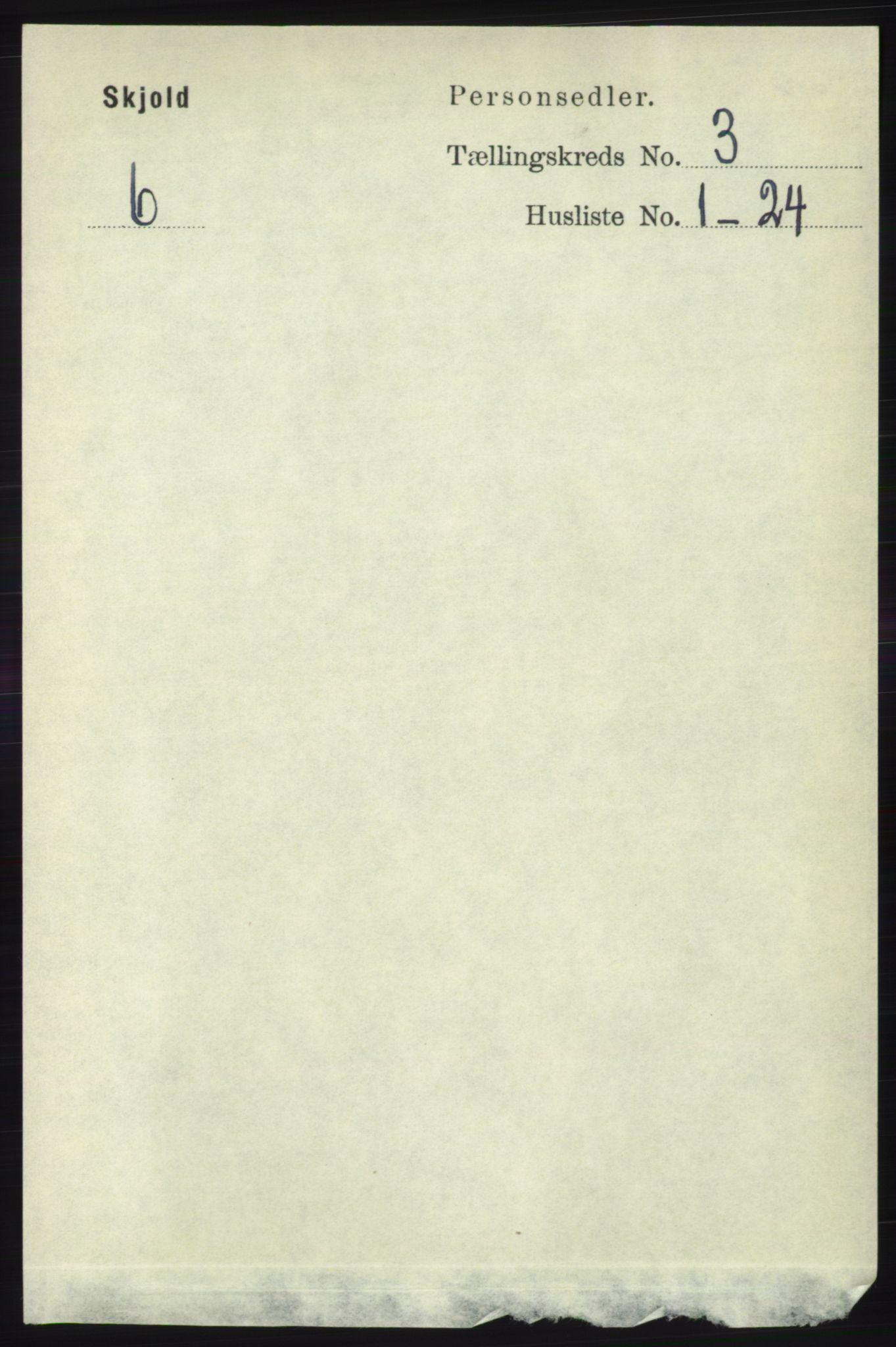 RA, Folketelling 1891 for 1154 Skjold herred, 1891, s. 384