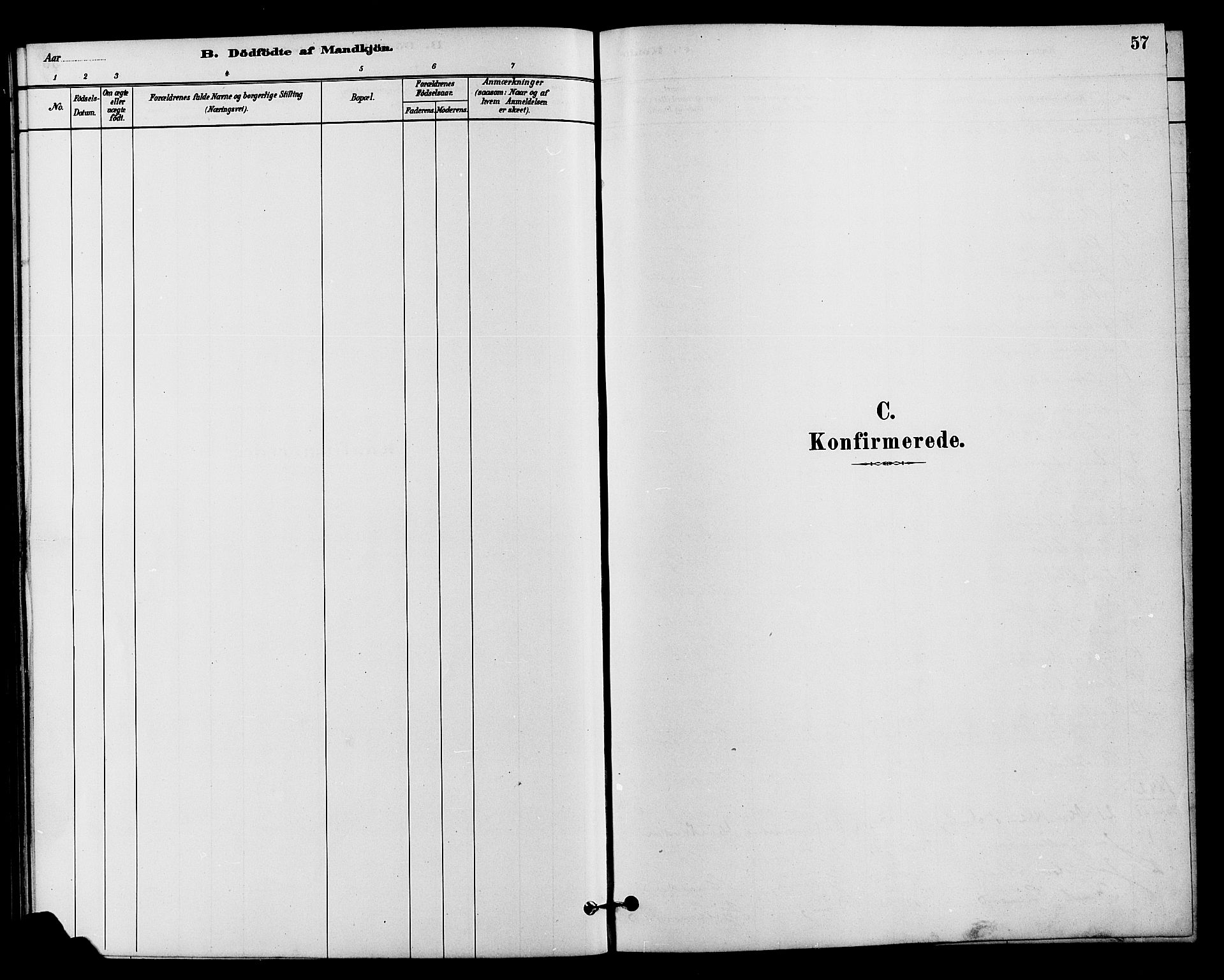 SAH, Vestre Slidre prestekontor, Klokkerbok nr. 4, 1881-1912, s. 57