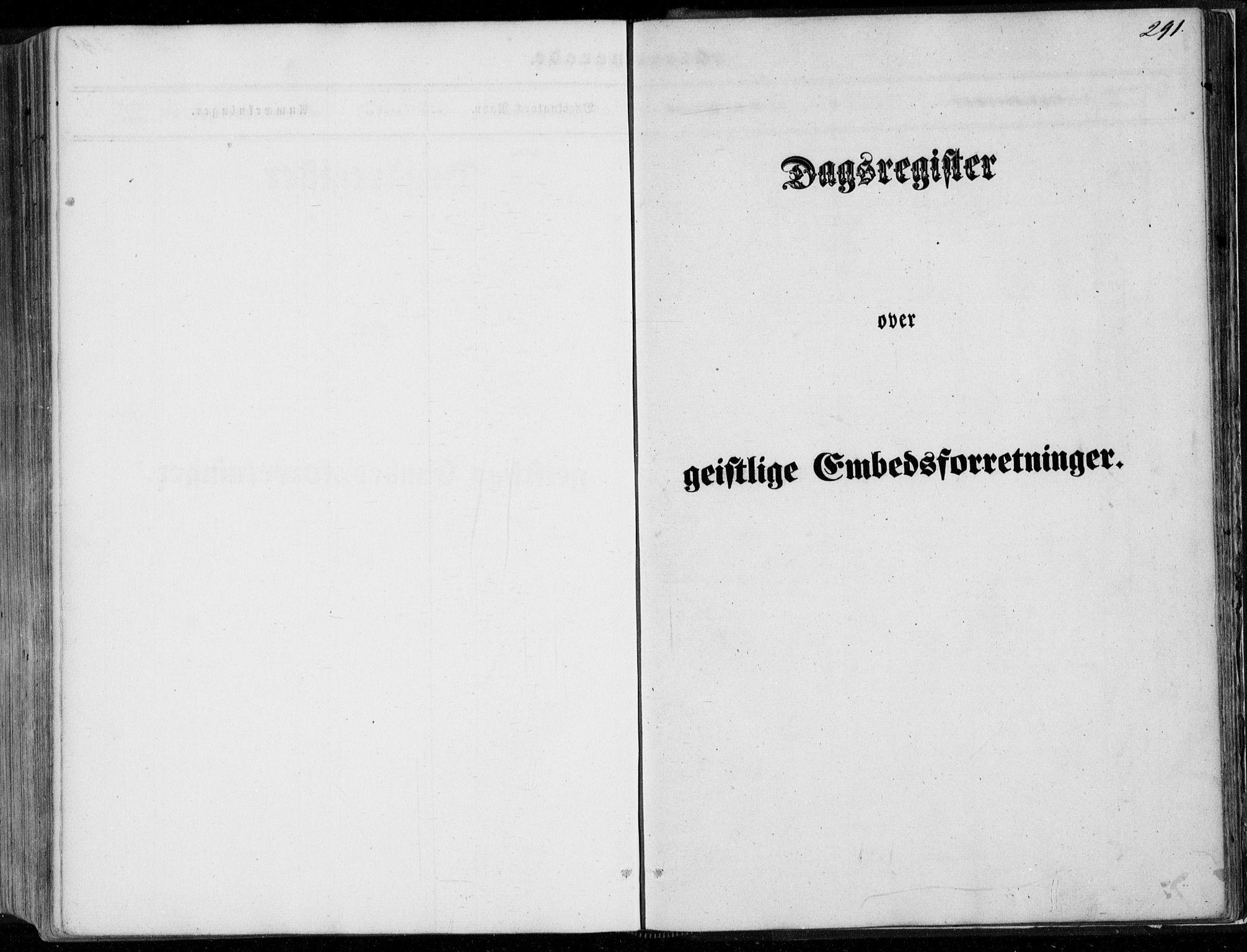 SAB, Leikanger Sokneprestembete, Ministerialbok nr. A 8, 1852-1868, s. 291